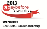 Self-Service Networks wins 2013 Paybefore Award