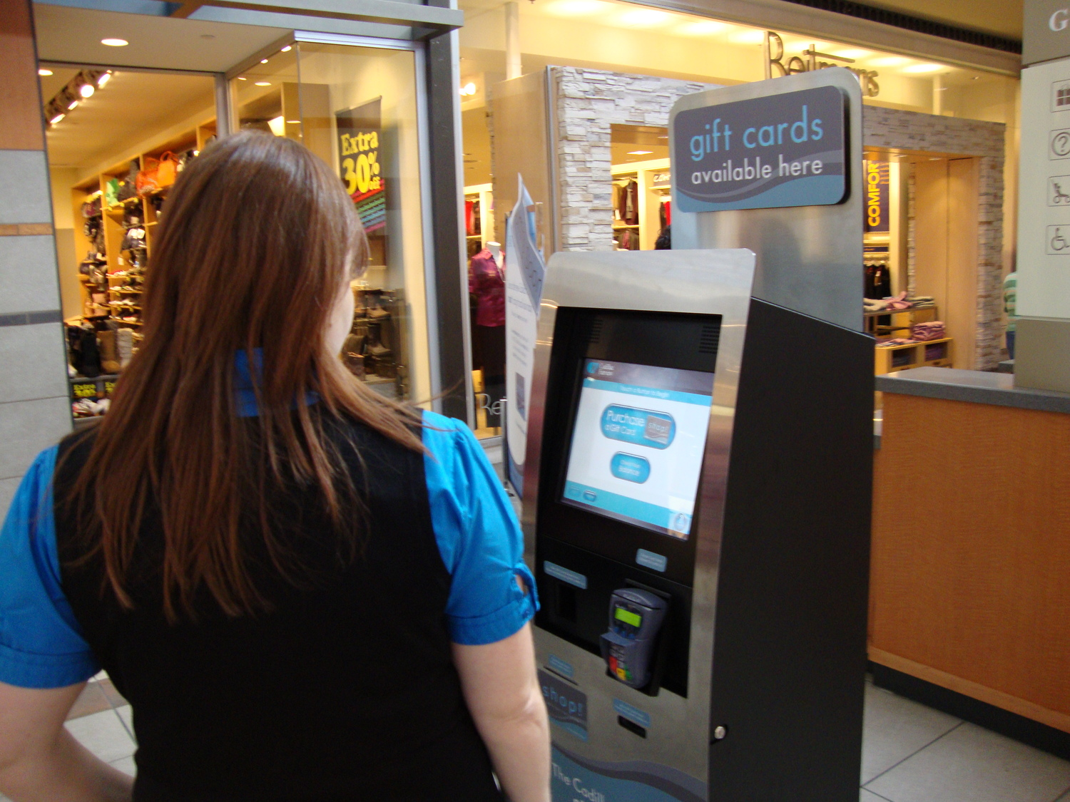 Giftwise Kiosk Self Service Networks Card Vending Solutions