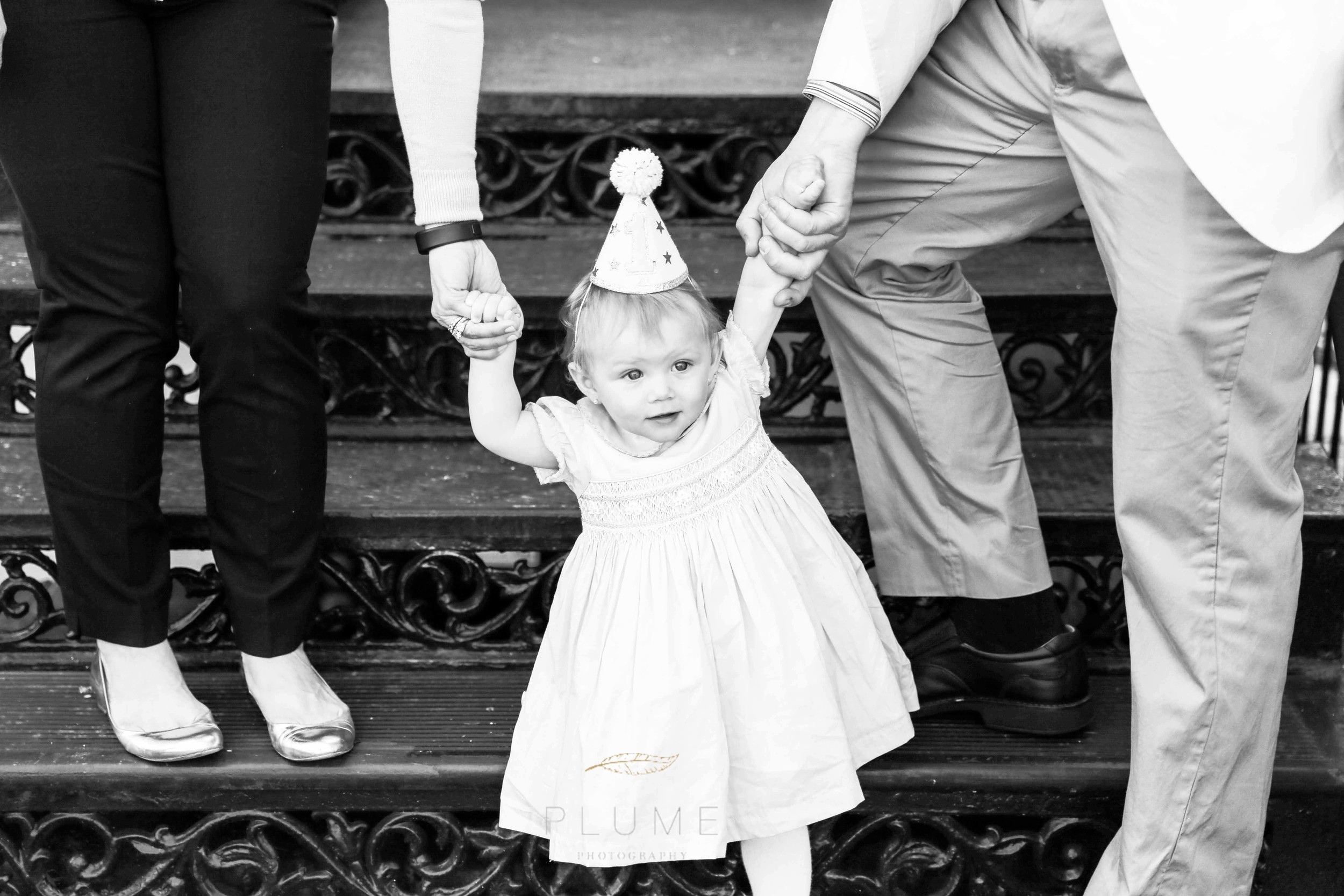 Adriana's First Birthday party at home on Capitol Hill with family and friends, Saturday, March 2015, Washington, D.C., Photo by Amanda Reynolds