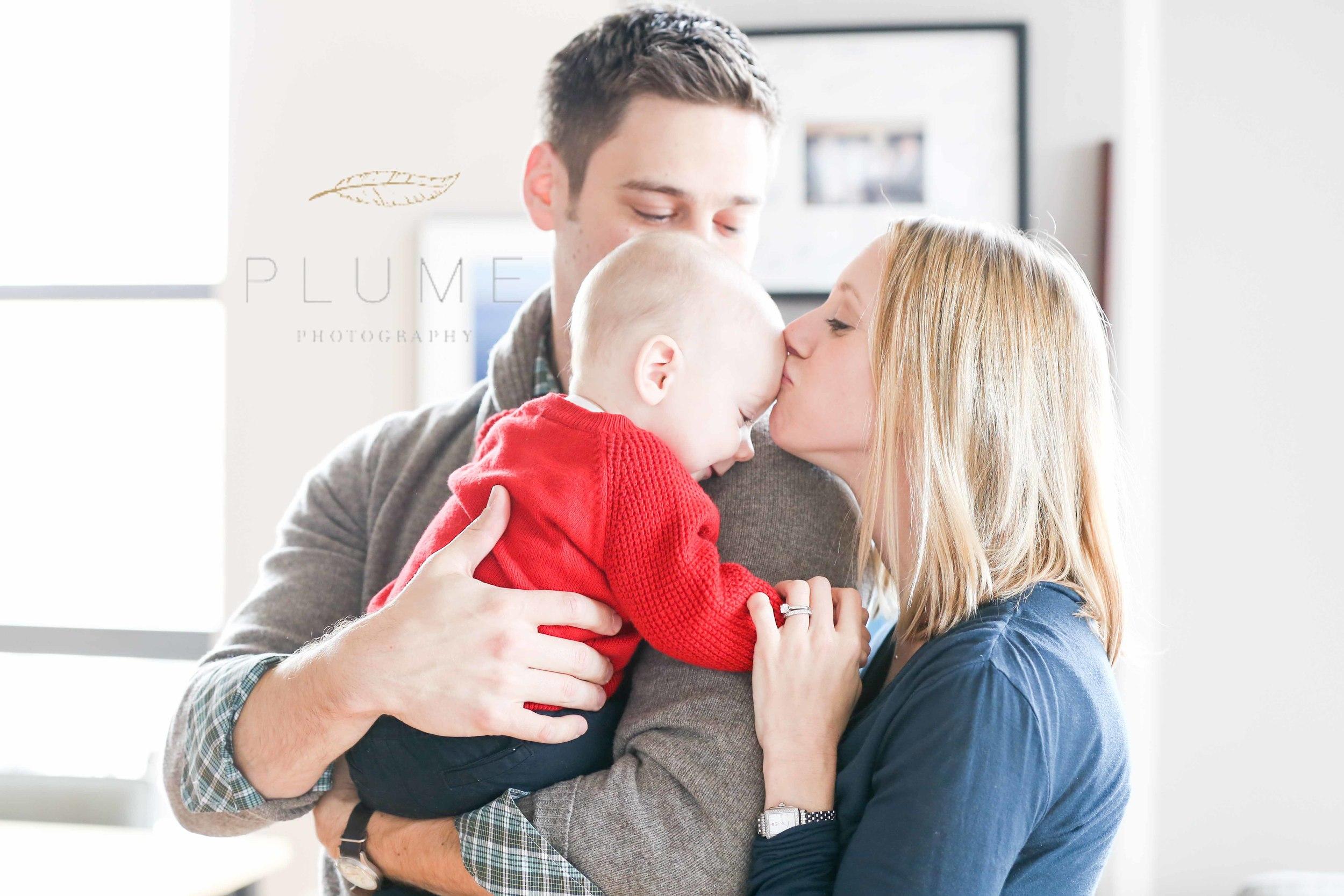 Matt, Anne and Logan Gialanella at home in Washington, DC, Sunday, November 2, 2014. Photo by Amanda Reynolds