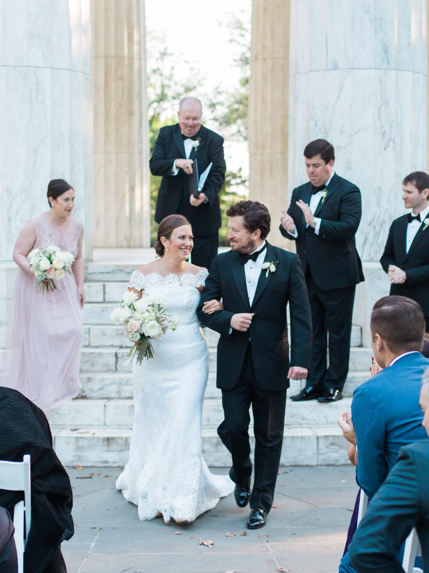 DC War Memorial Wedding Fall 2017