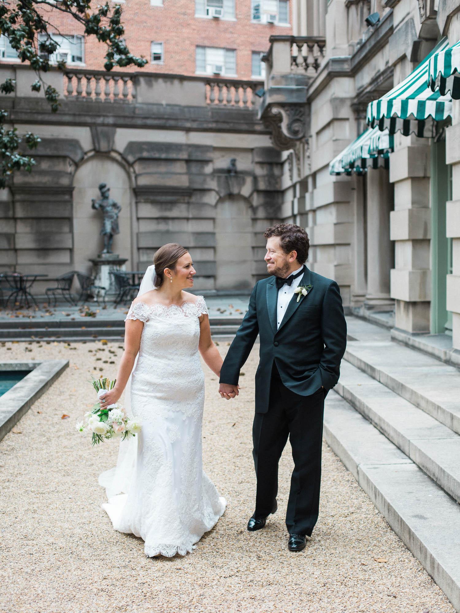 Anderson House Wedding Washington DC Fall 2017 Plume Photography