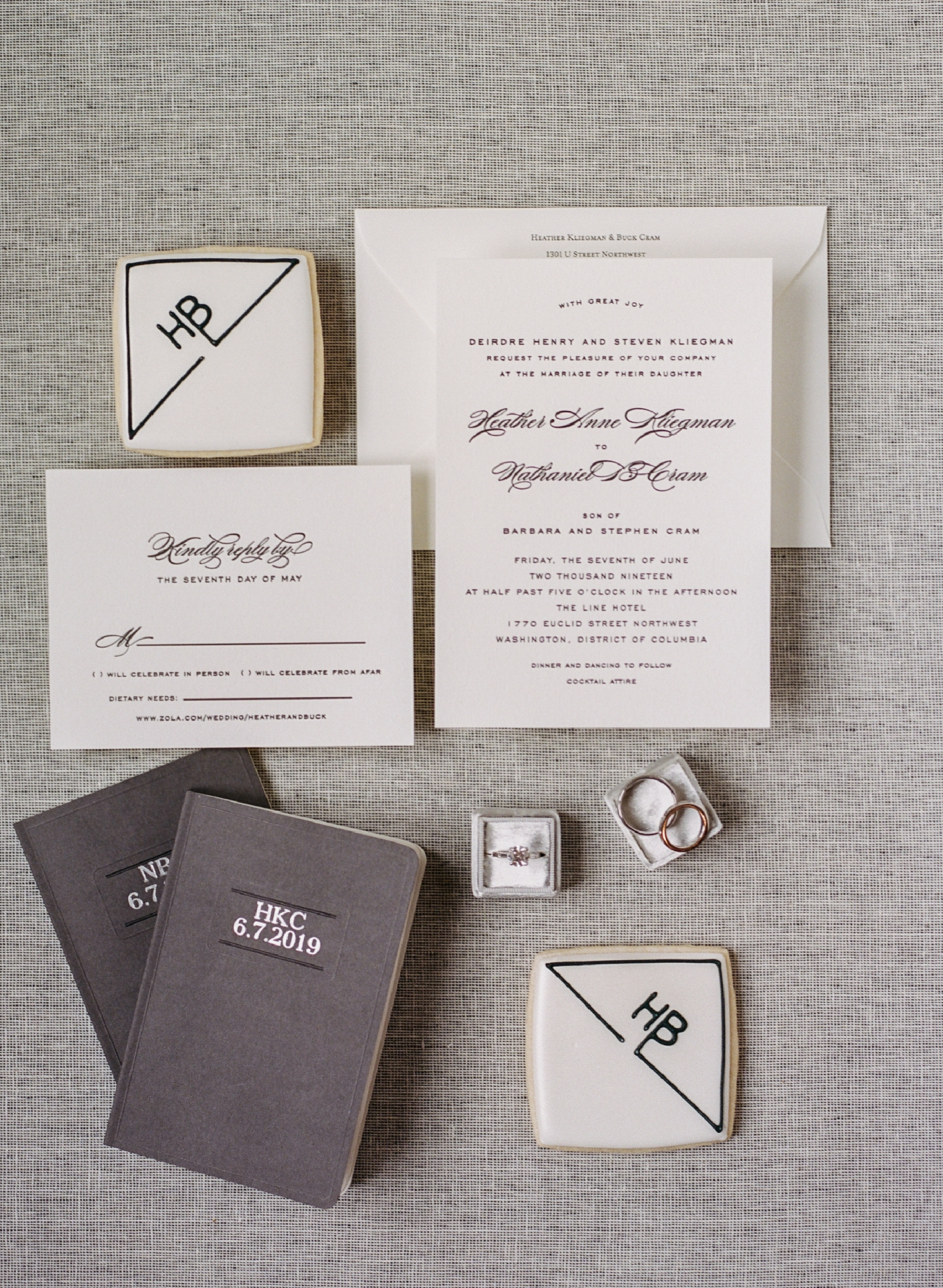 LineHotelWeddingInvitationSuite2019PlumePhotography