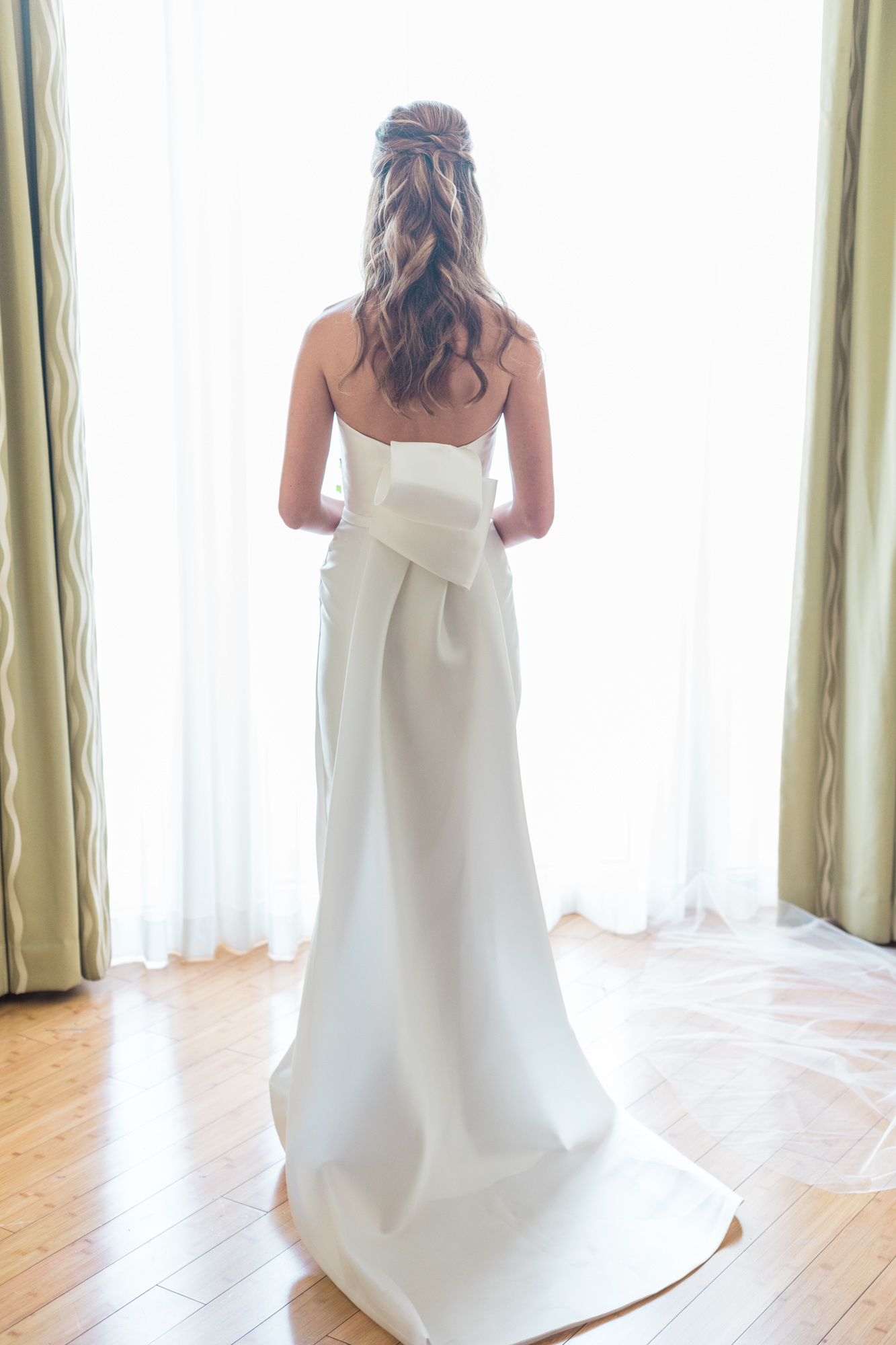 Elegant Sophisticated Wedding Dress Washington DC Chinoiserie Wedding