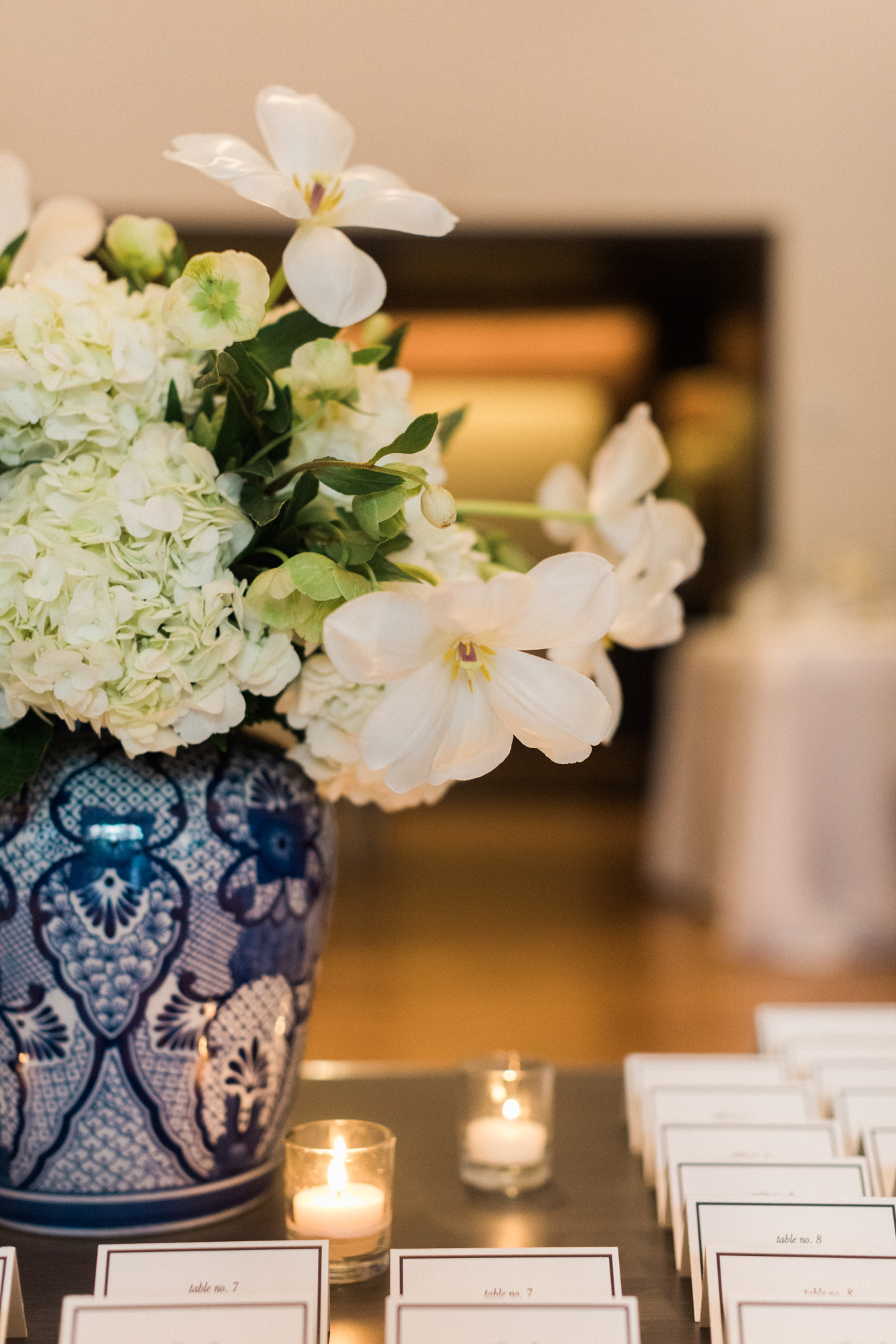 Blue and White Washington DC Chinoiserie Wedding Plume Photography