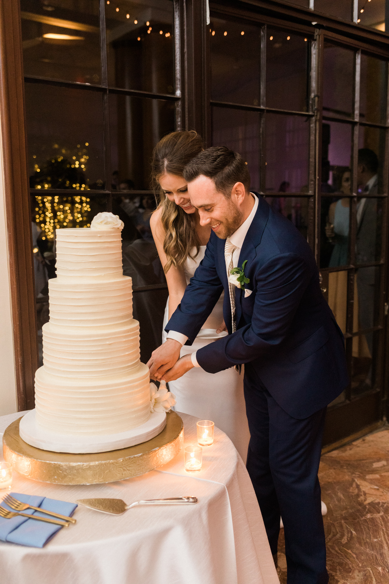 Fluffy Thoughts Cake Washington DC Chinoiserie Wedding Plume Photography