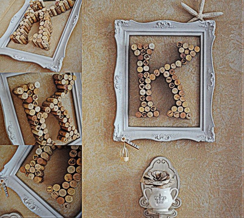 Corky Letter Art