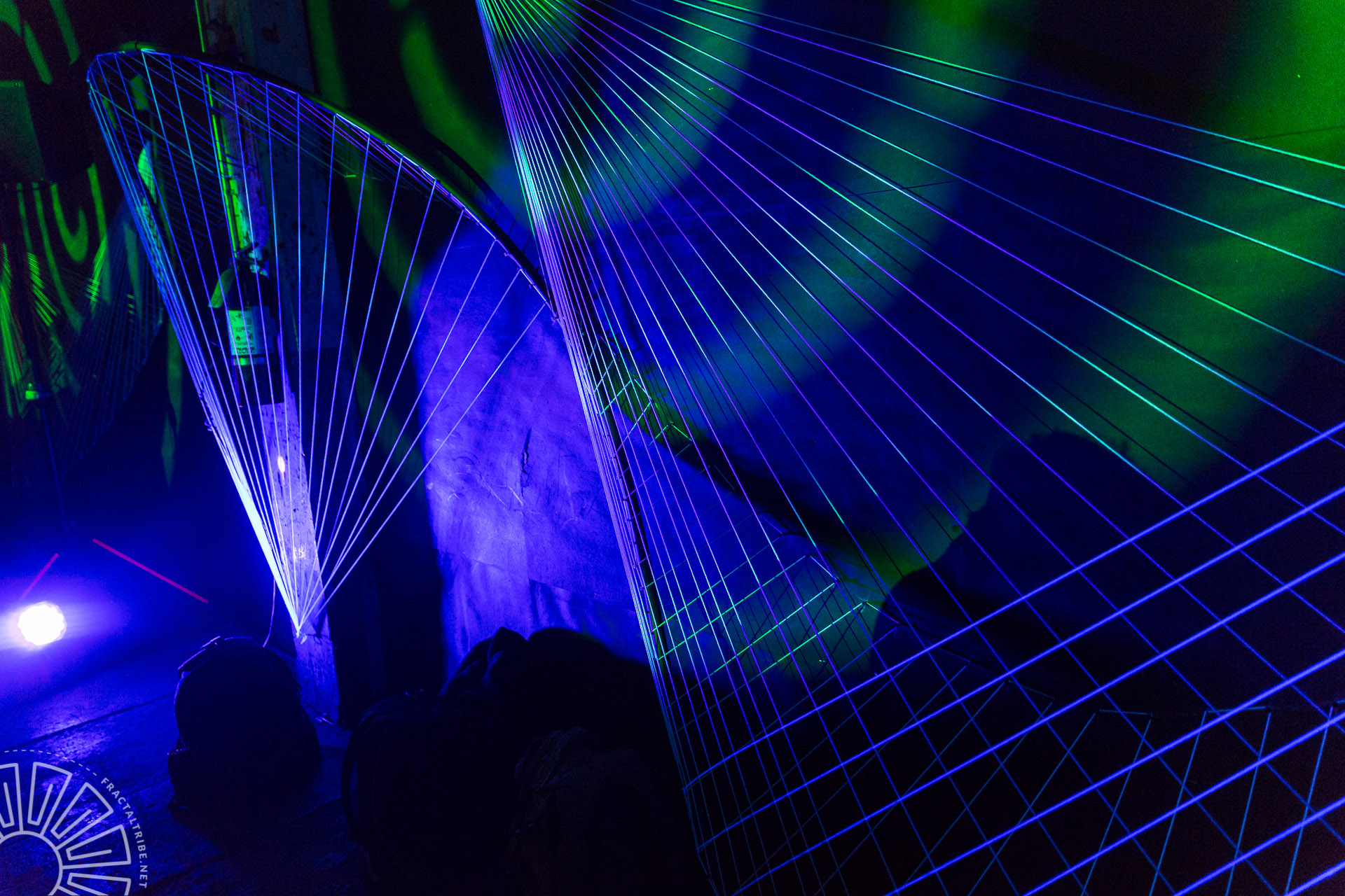 UV String Art @ Year of the Fractilian