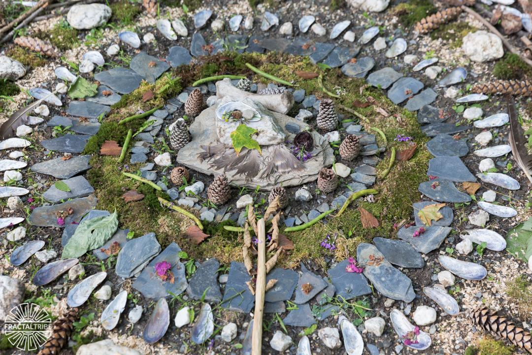 Mandala at Fractalfest 2016 in Upstate New York