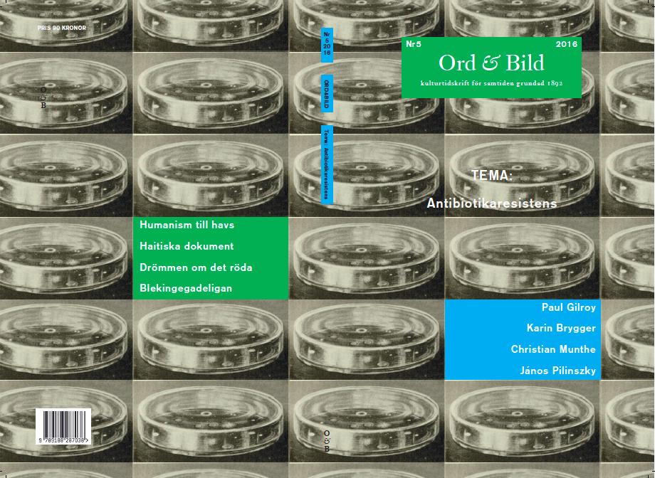 Omslagsbild ur boken  The Actinomycetes , Williams & Wilkins (1959). Ett tidigt fotografi av en bakterie- och svampodling, tryckt i original i boken  Textbook of Agricultural Bacteriology , McGraw-hill Book Co. (1923).