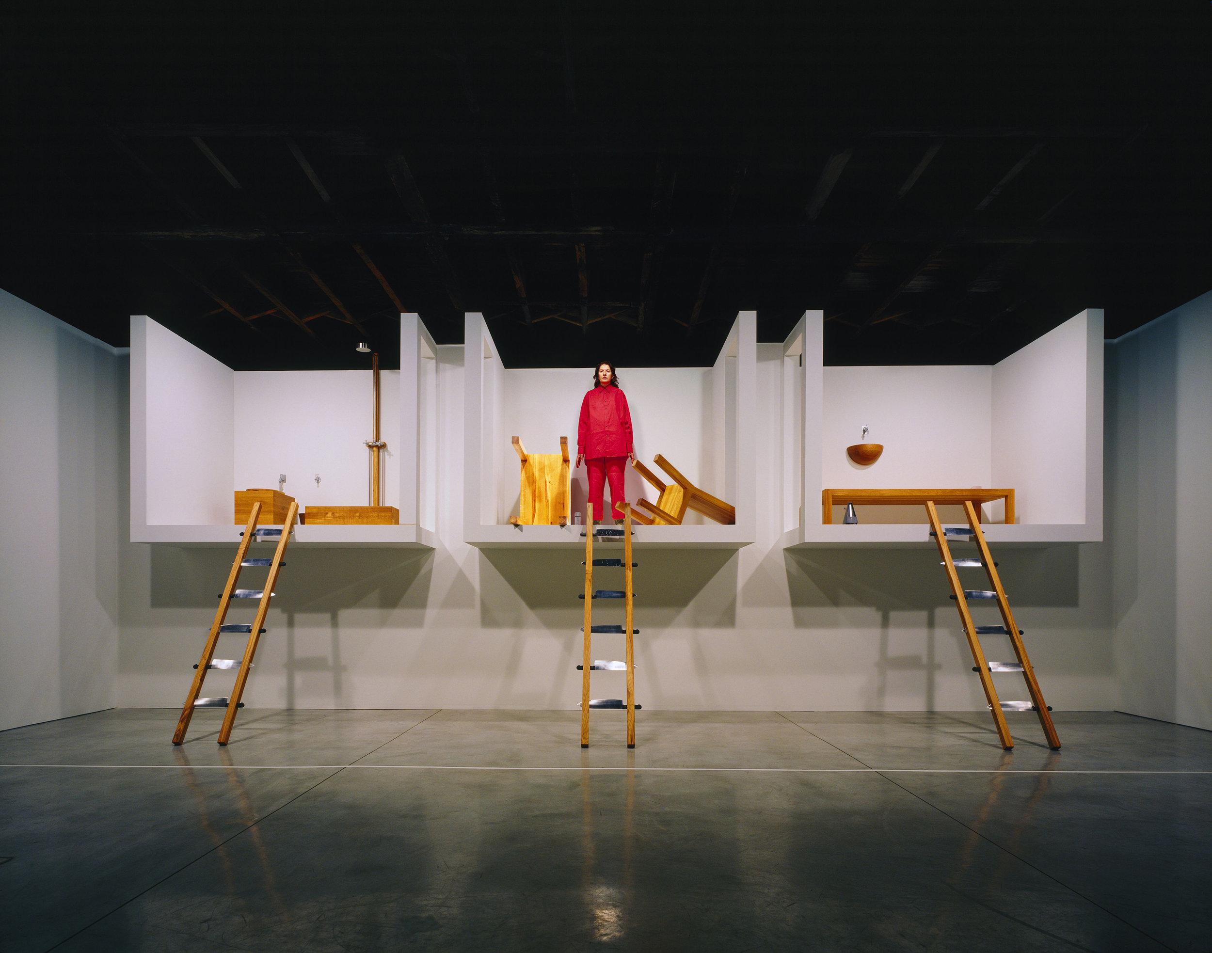 Marina Abramović, The House with The Ocean View, 2002 Performance, 12 days Sean Kelly Gallery, New York, 2002 © Marina Abramović/Bildupphovsrätt 2017 Photo: © Attilio Maranzano Courtesy of the Marina Abramović Archives