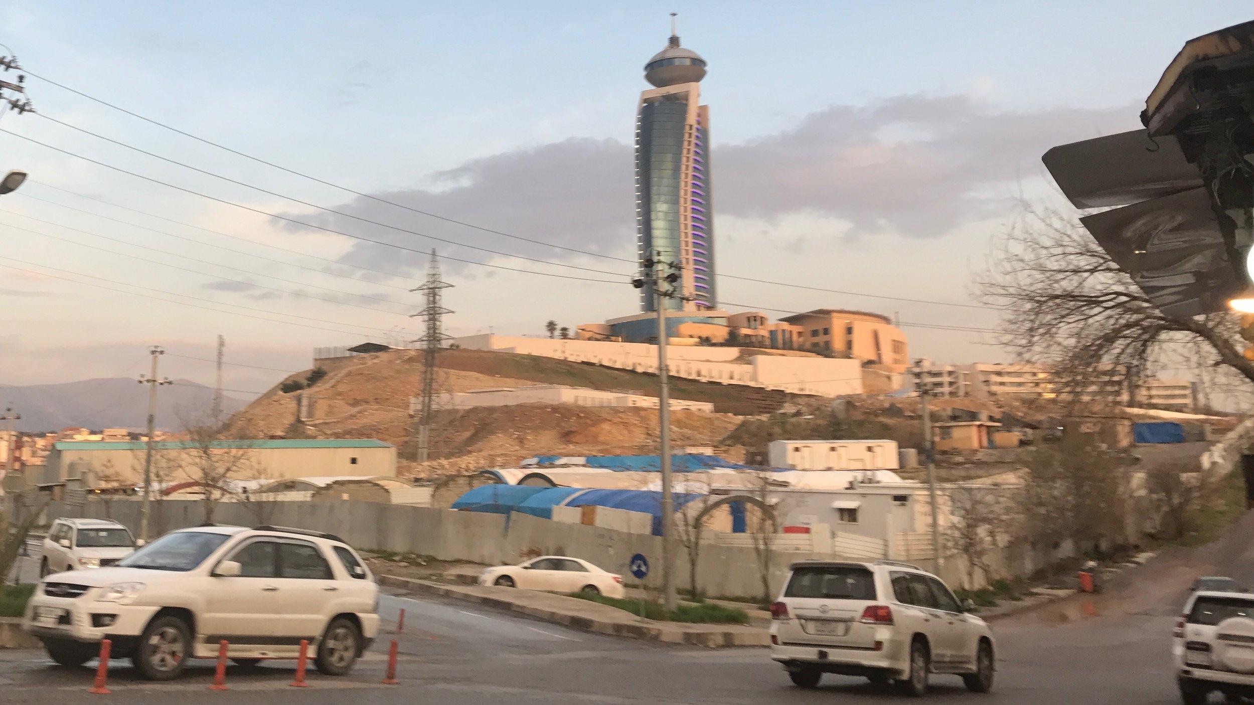 """""""Staden Slemani var ovillig att acceptera såväl brittiskt som irakiskt styre."""""""
