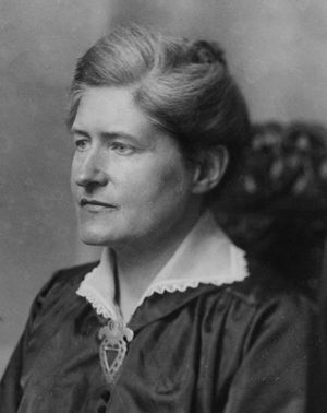 Lydia Wahlström, f. 1869, d. 1954.