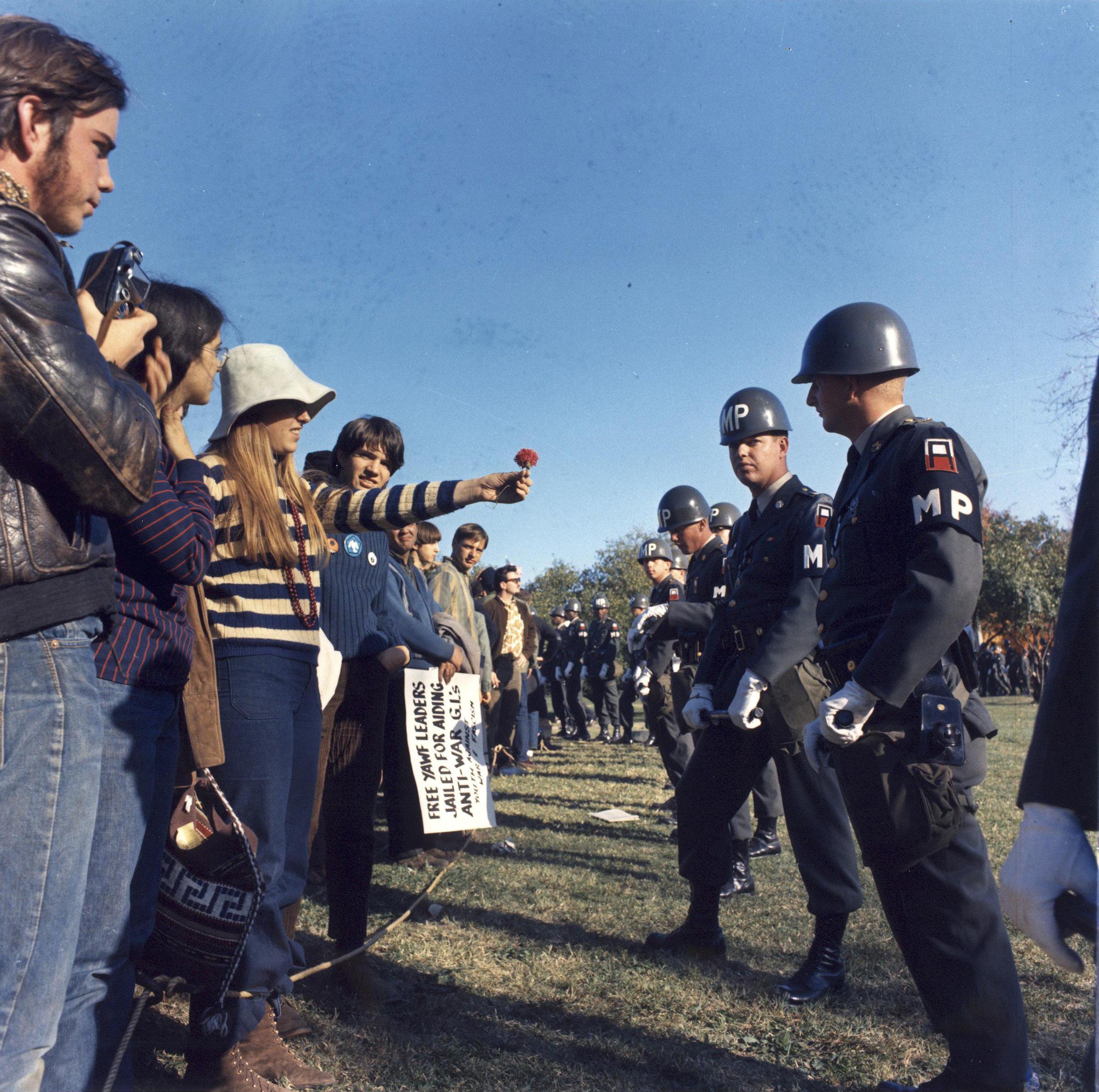 21 oktober 1967. Foto:S.Sgt. Albert R. Simpson, Wikimedia Commons.