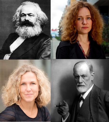 Catharina Thörn längst upp t h. Foto: Johan Wingborg. Marit Kapla längst ner t v. Foto: Ola Kjelbye.
