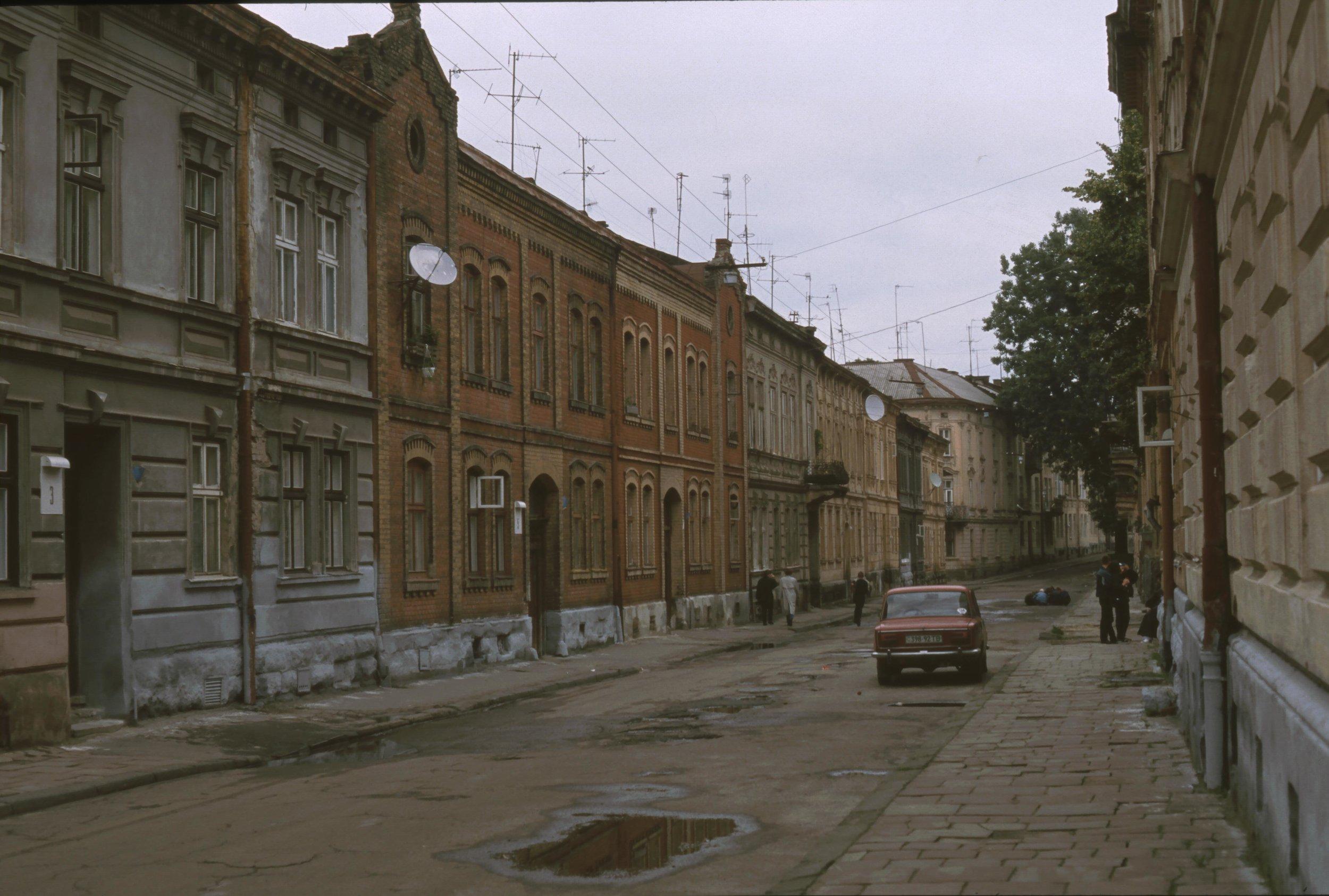 Lviv 1995. Foto: Håkan Forsell