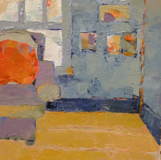 Orange Pillow, Studio
