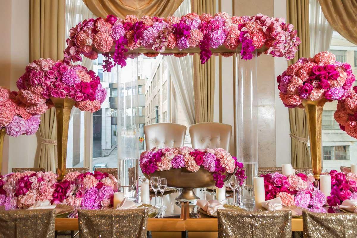 Dark-Pink-Light-Pink-Bronze-floral-pieces.jpg