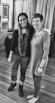 Jessica Sharpenstein (left), Jessica Olberz Singleton (right)