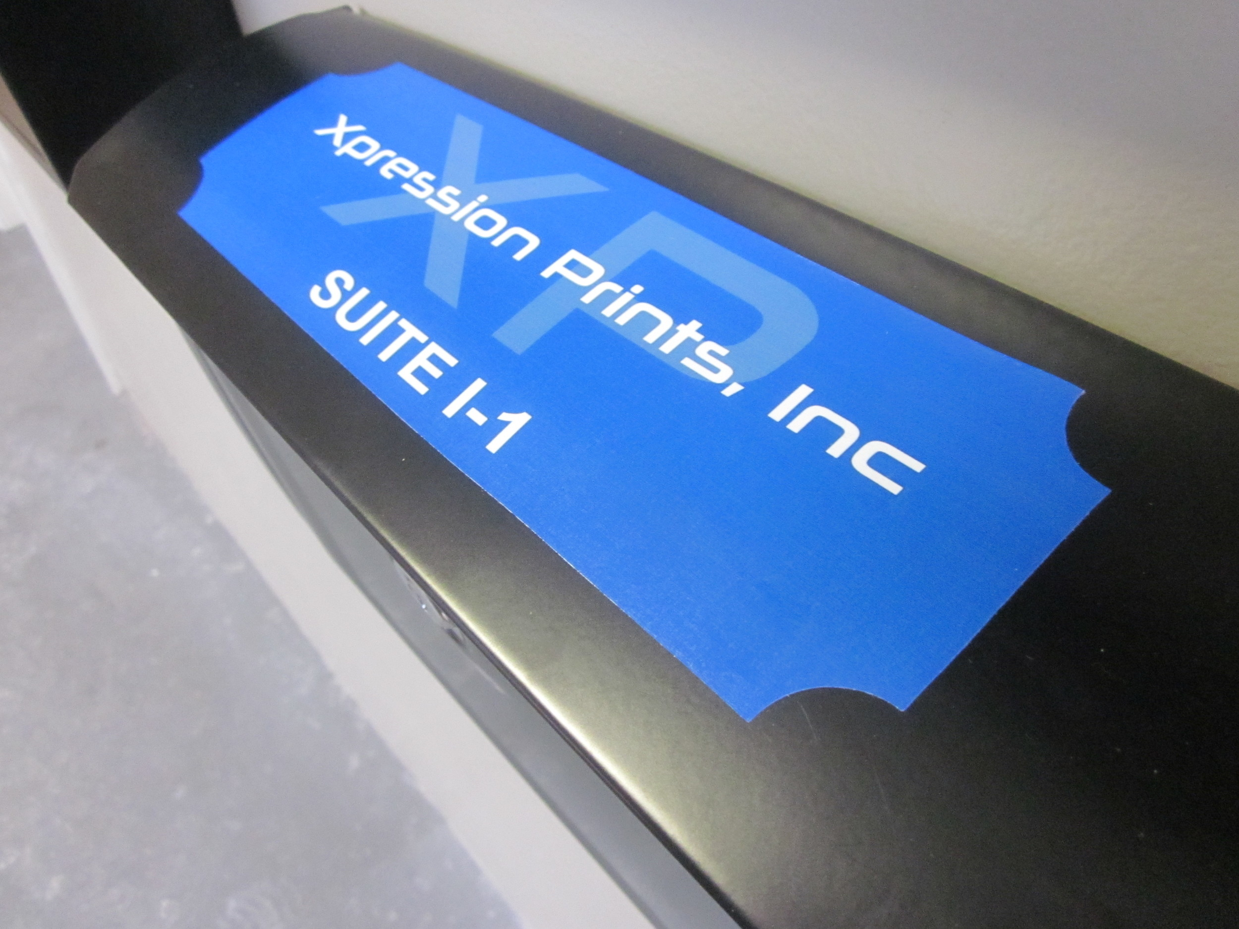 XP offers a wide array of custom vinyl stickers for all applications.