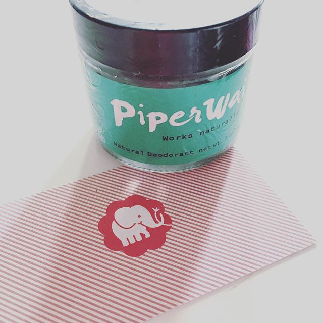 One #phillystartup supporting another #allwomen #phillystartup @piperwai we love your product and recommend it to all our #healthymamas 😍👏❤️ #naturaldeodorant @sharktankabc #phillysupportphilly