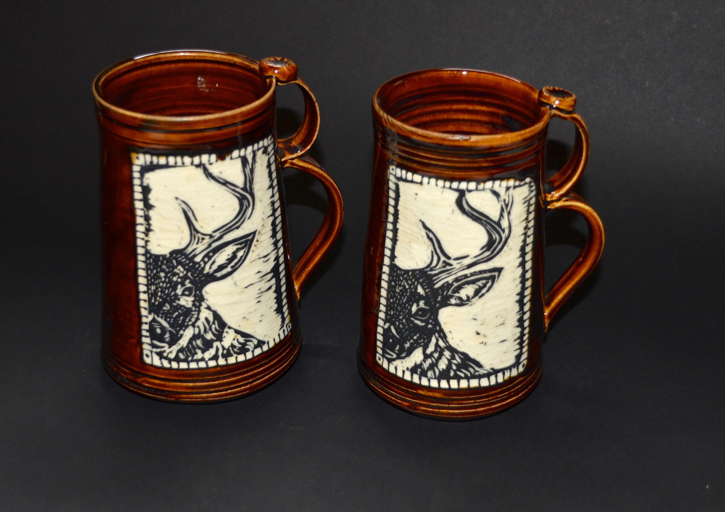 Deer Beer Steins SOLD