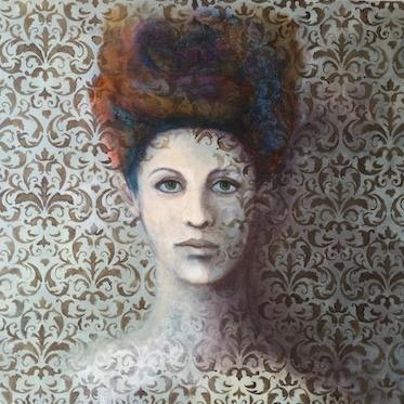 """Ephemera, Acrylic on canvas,24x24"""""""