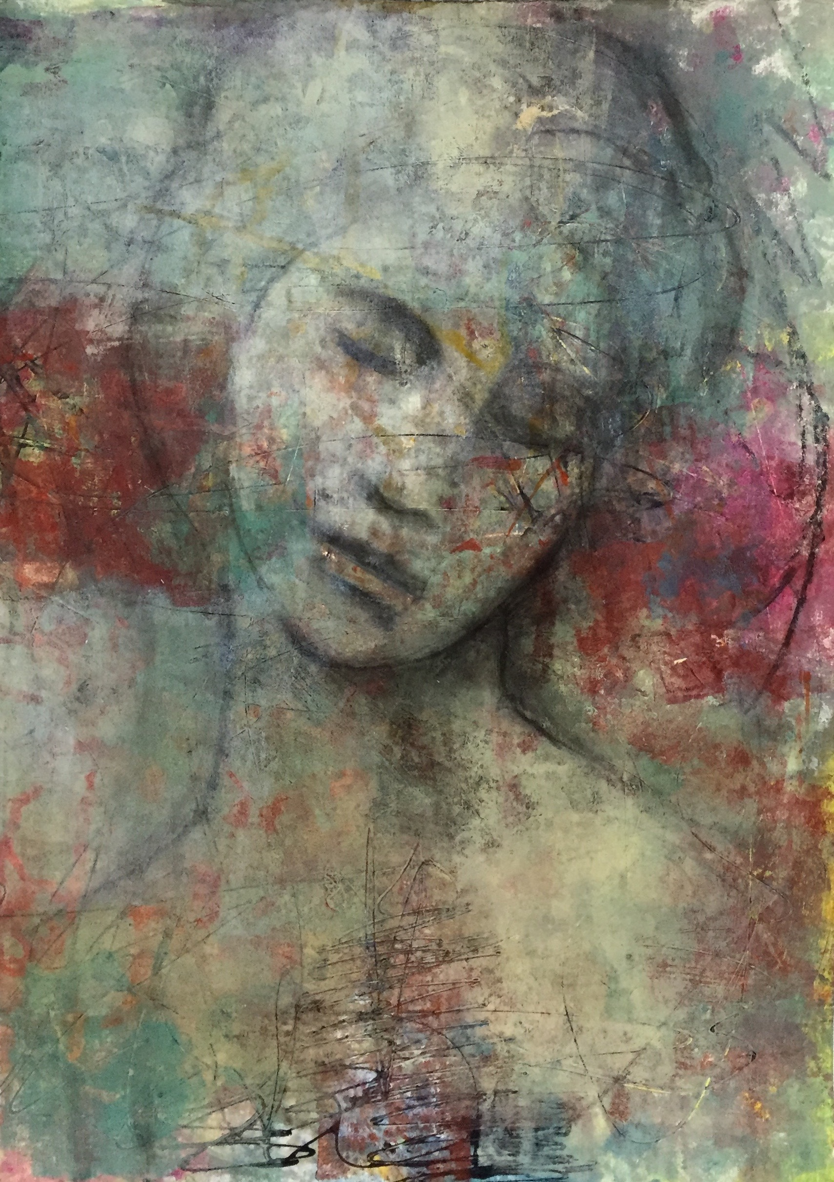 Abstract Portrait-SOLD