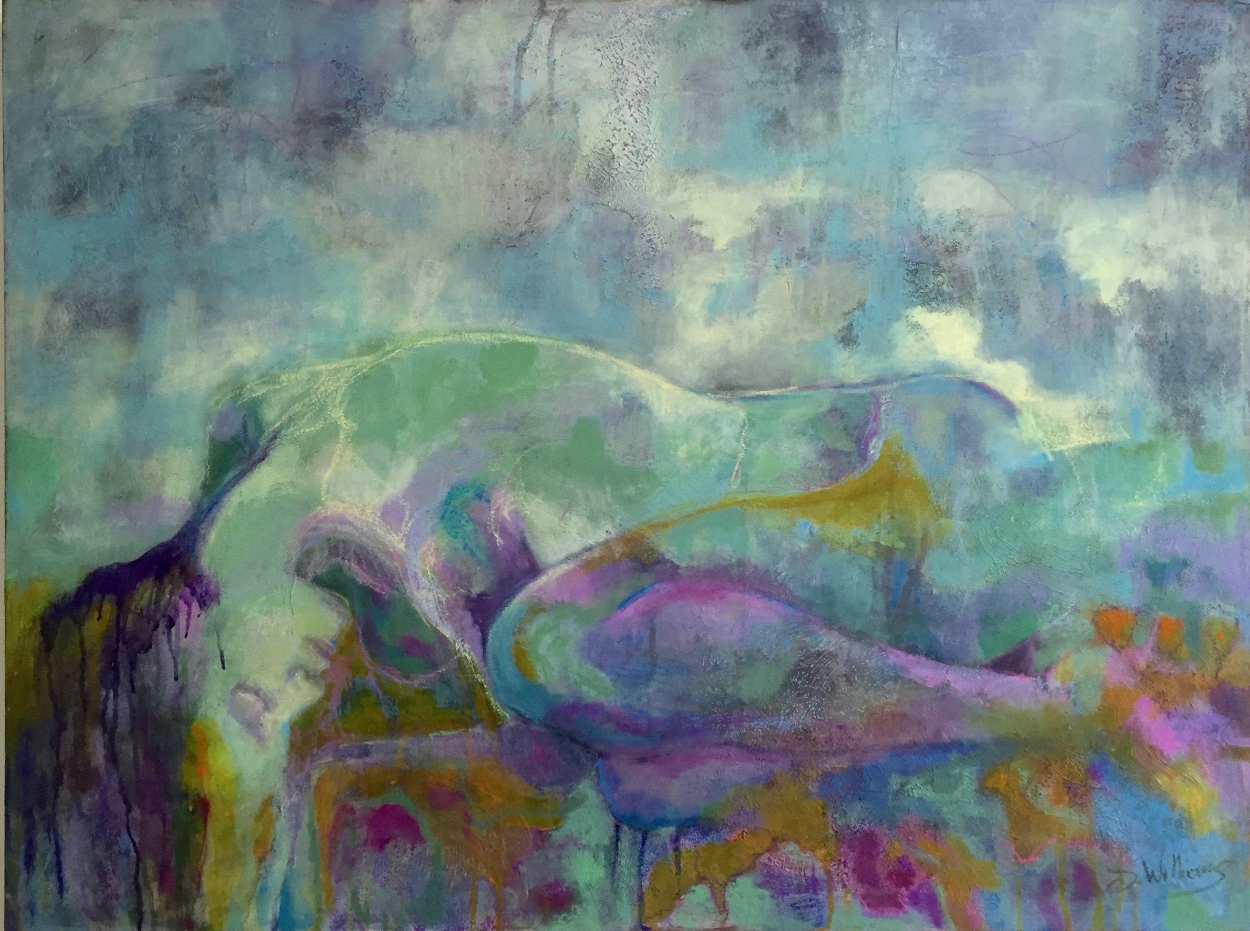 Sky Burial -the purple iris