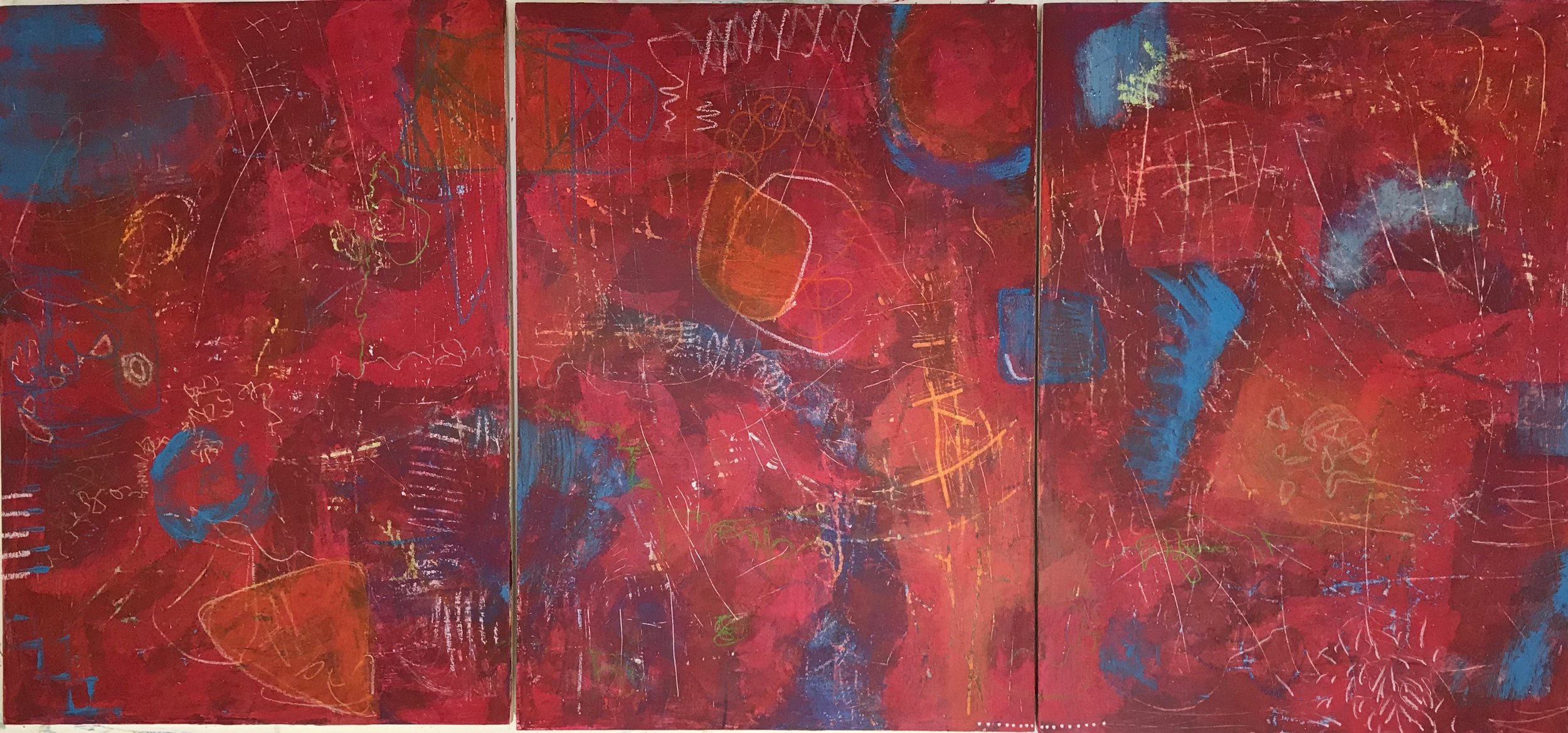 Red Painting