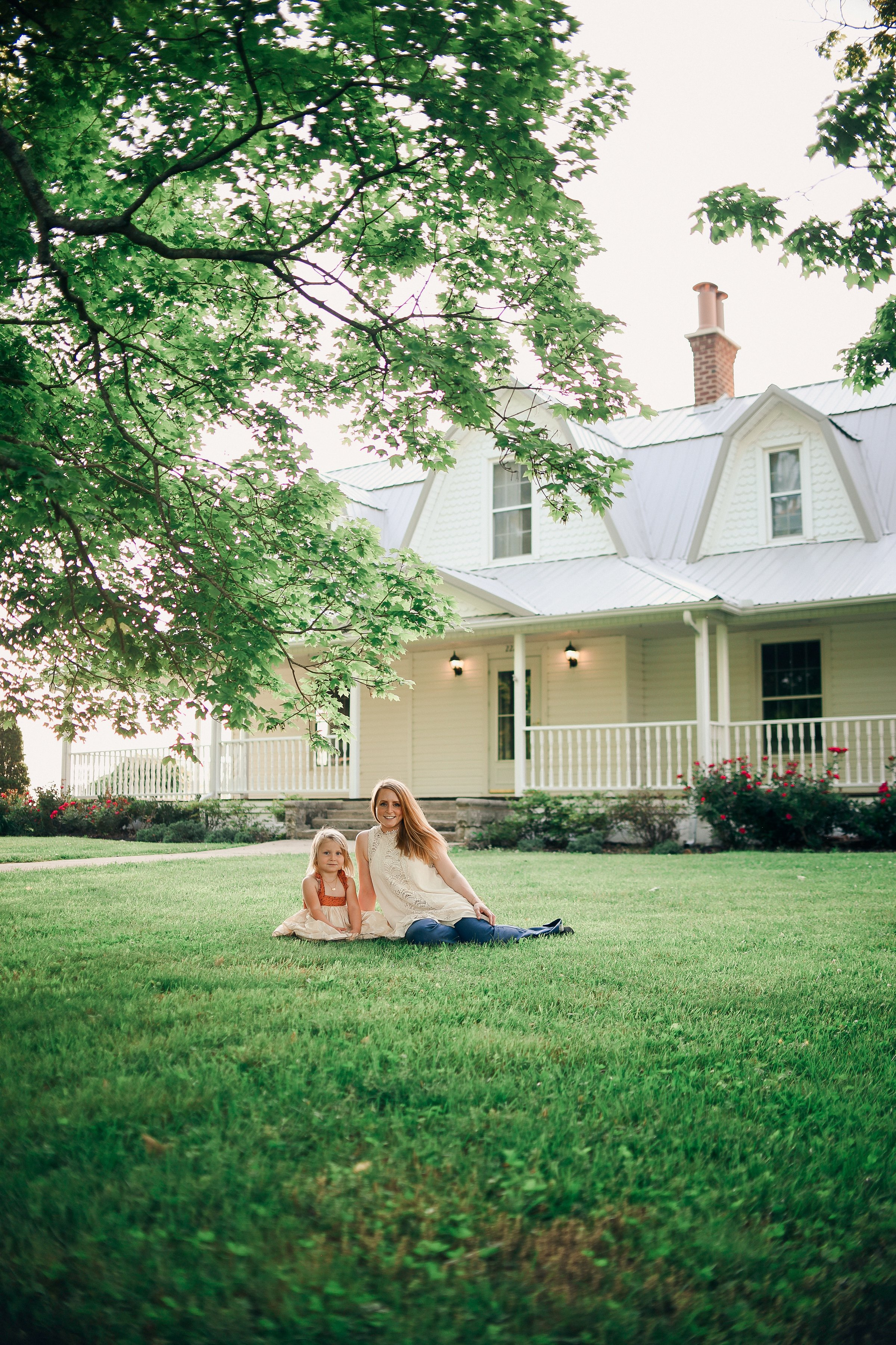 We have each other and that is more than enough. We love our sweet farmhouse. It's just an added bonus to our life now.