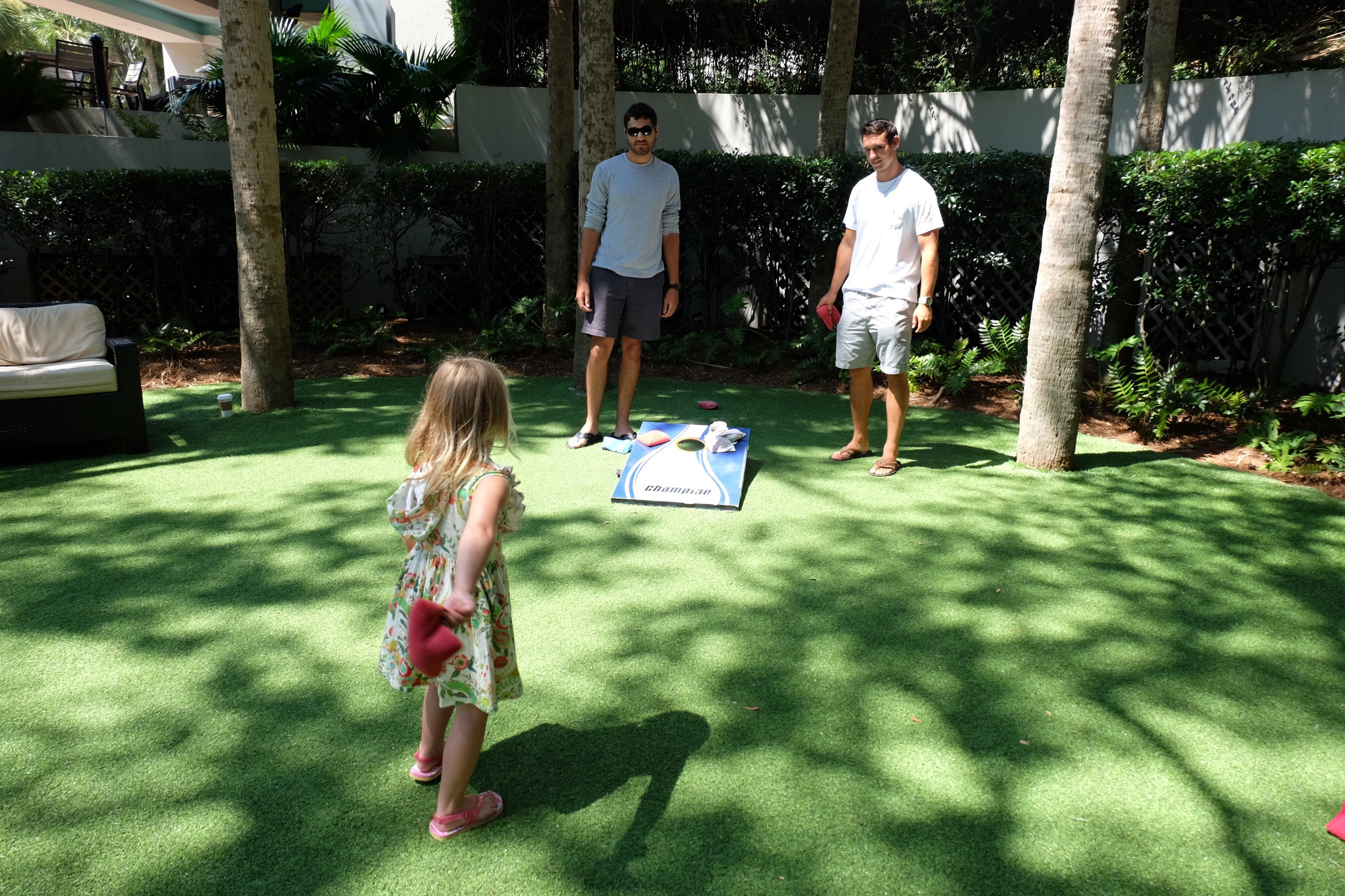There were so many activities at the Westin, including a place where kids can play, splash contests and more fun games for kids and a gorgeous firepit, to name a few!