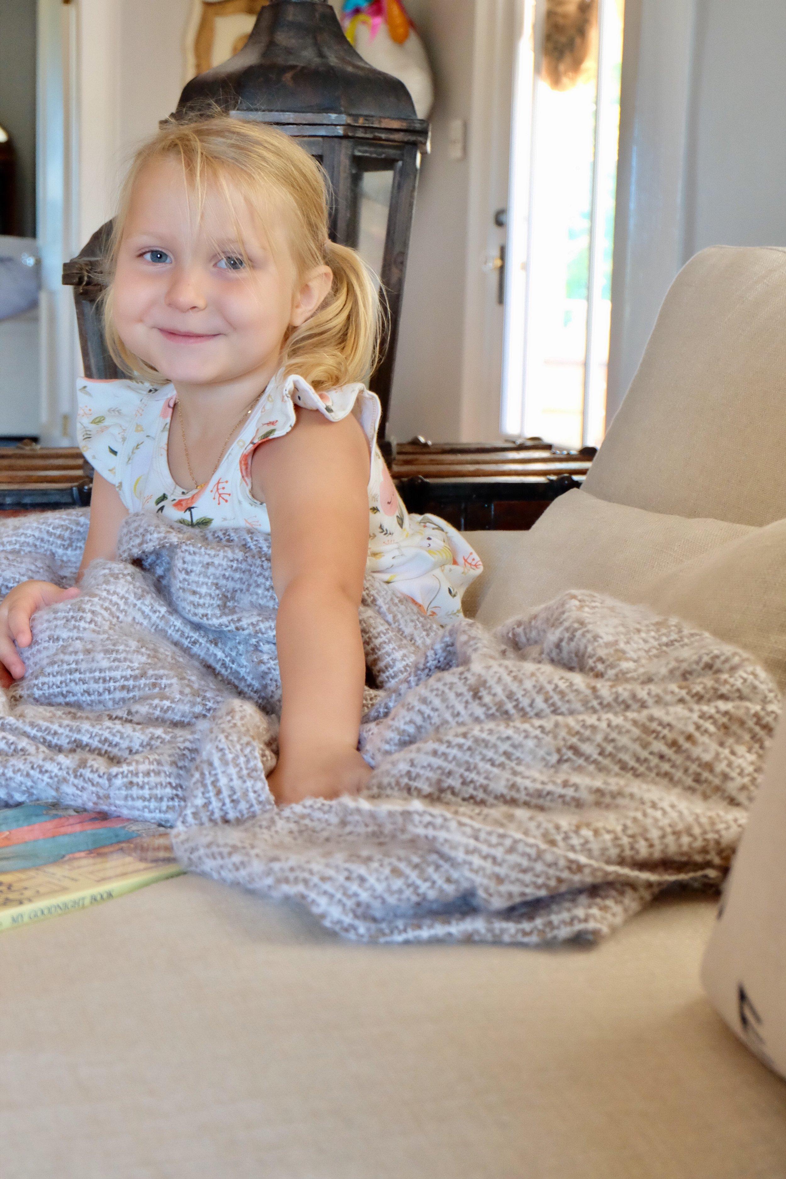 Harper found her new favorite reading spot! ;)