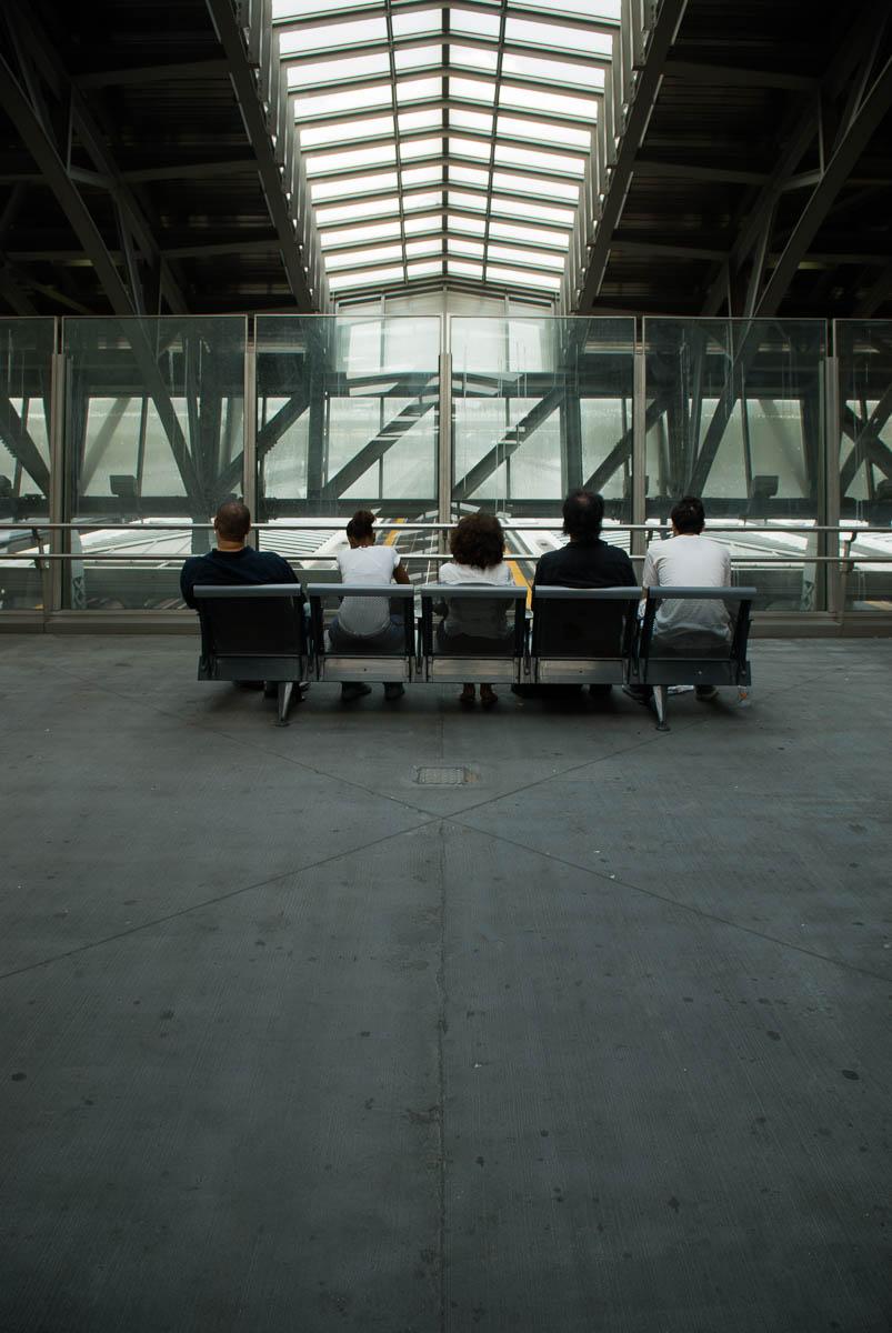 Jamaica Train Station, New York City - The Wait, street photography