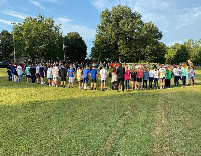 Some pictures from See You at the Pole yesterday!