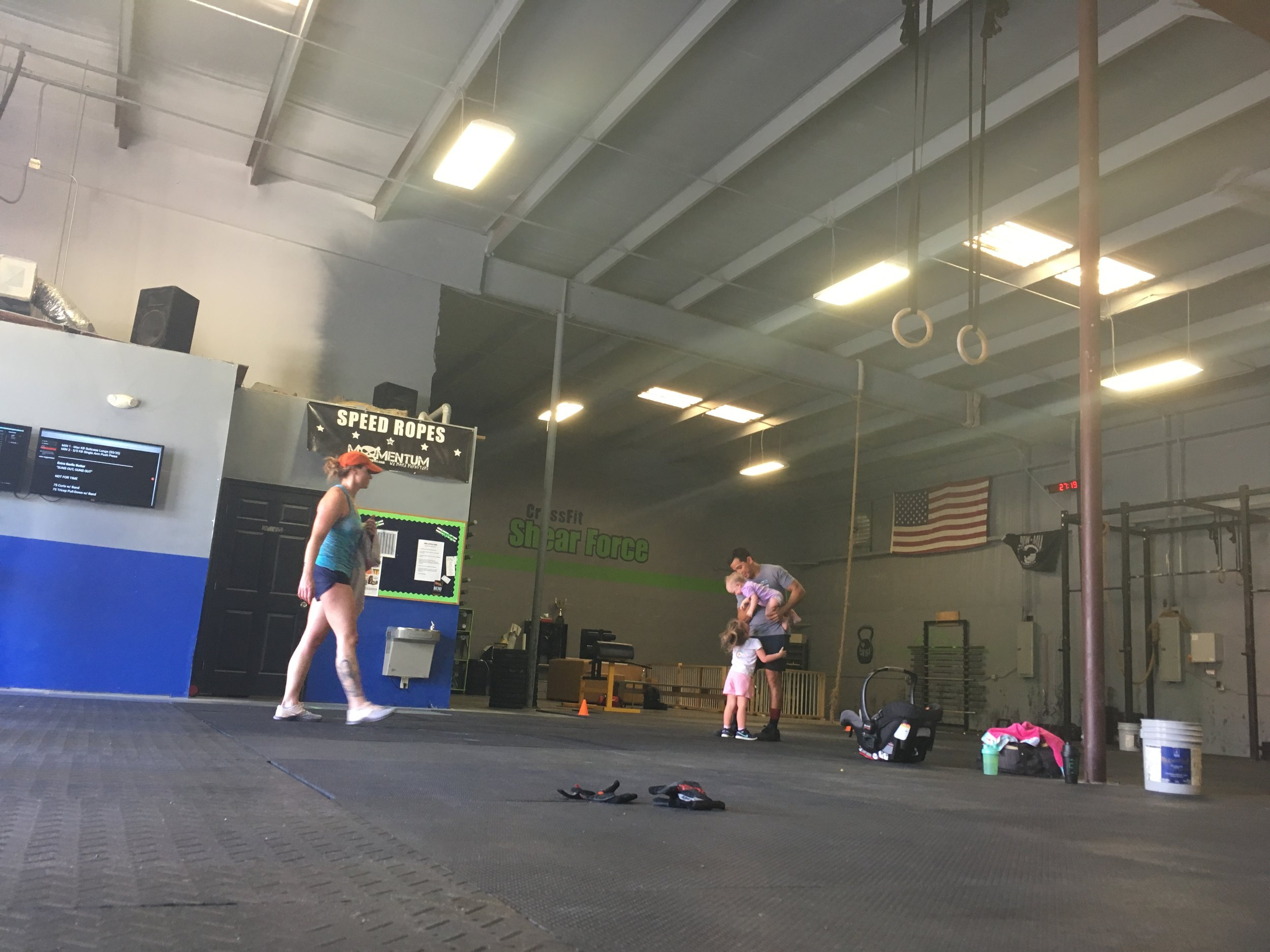 """FRAN""    FOR TIME   21-15-9 Thrusters (95/65)