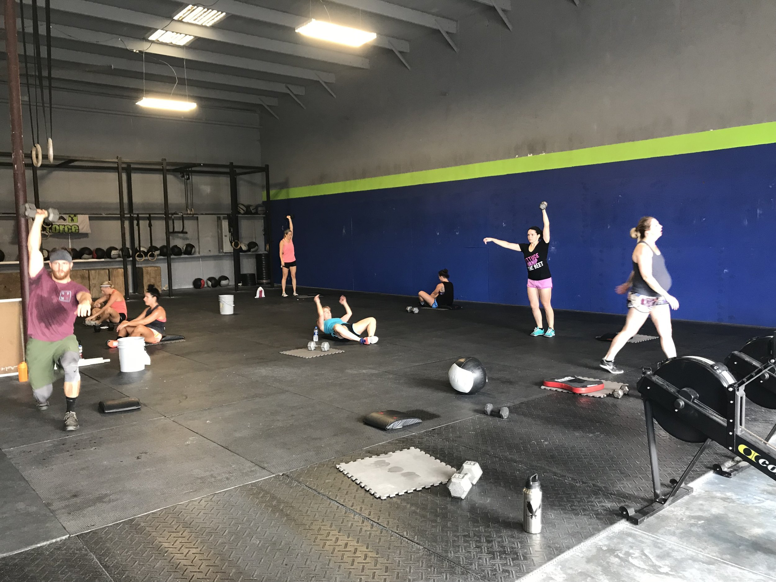 """NCFIT BENCHMARK WORKOUT    """"CALIFORNIA LOVE""""    FOR TIME   30 Squat Clean & Jerk* (155/105)