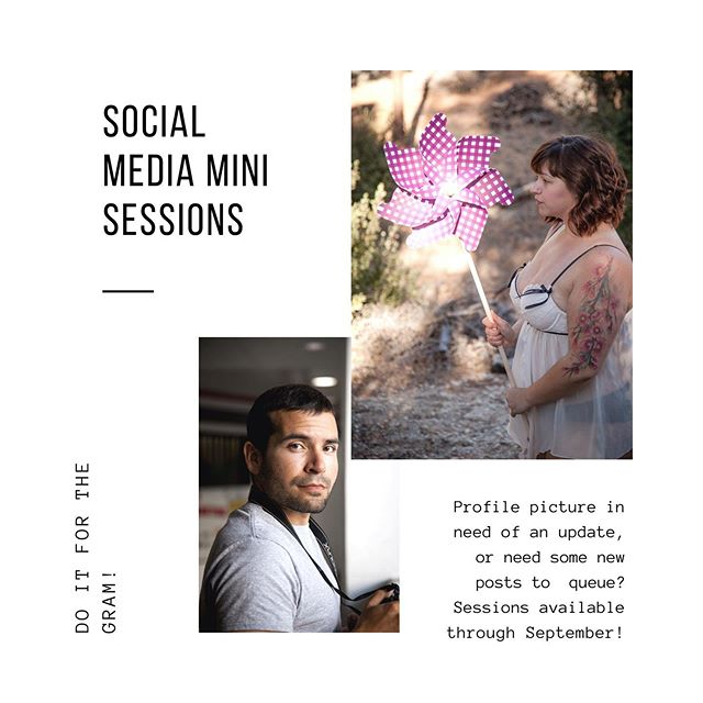 With summer in full swing, school around the corner (and football season!) isn't it time for a social media refresh? I'm so excited to offer these lifestyle mini sessions, now through September.