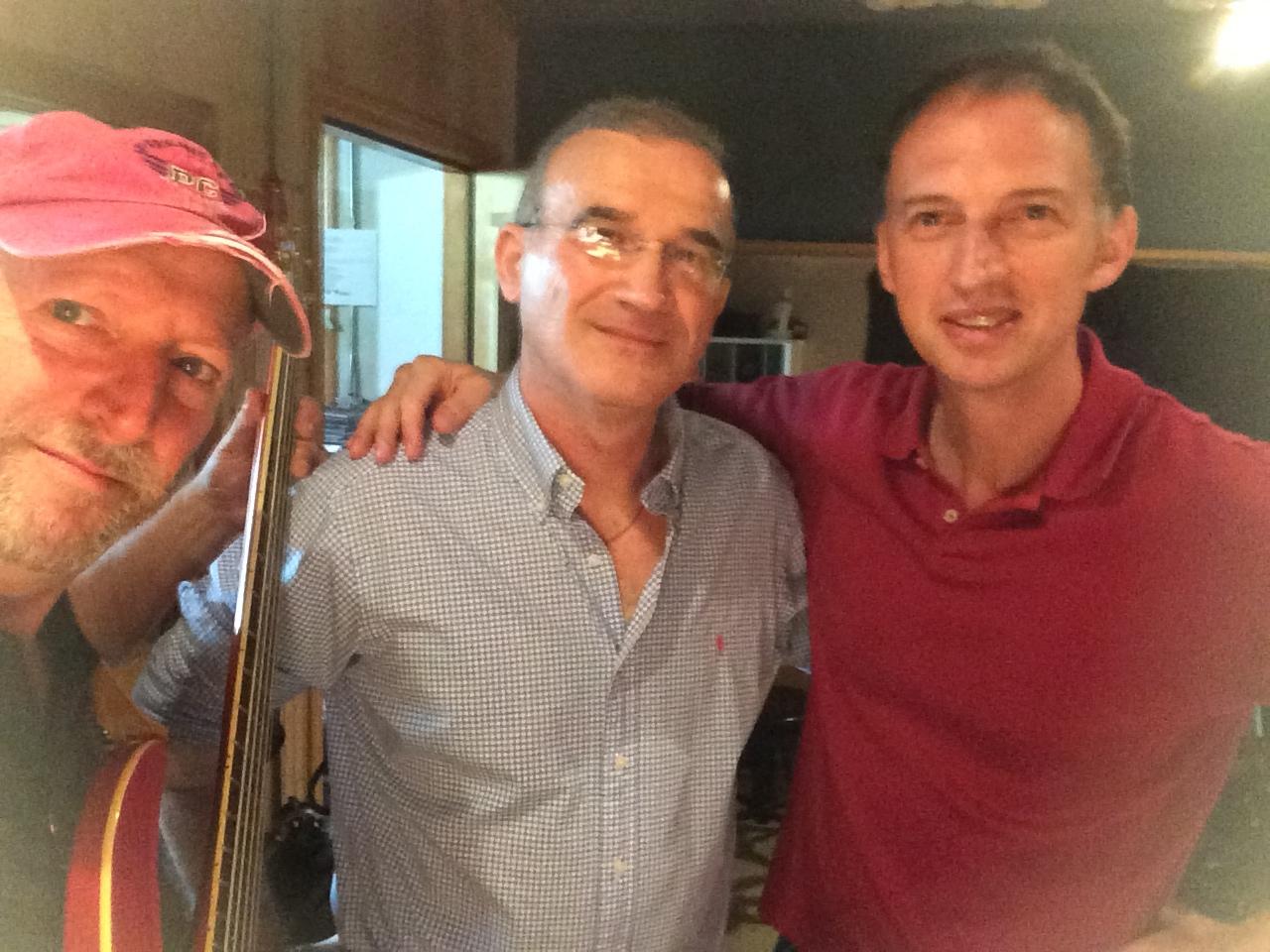 Bruce, Haim, Mark, PBS Studios, 2014