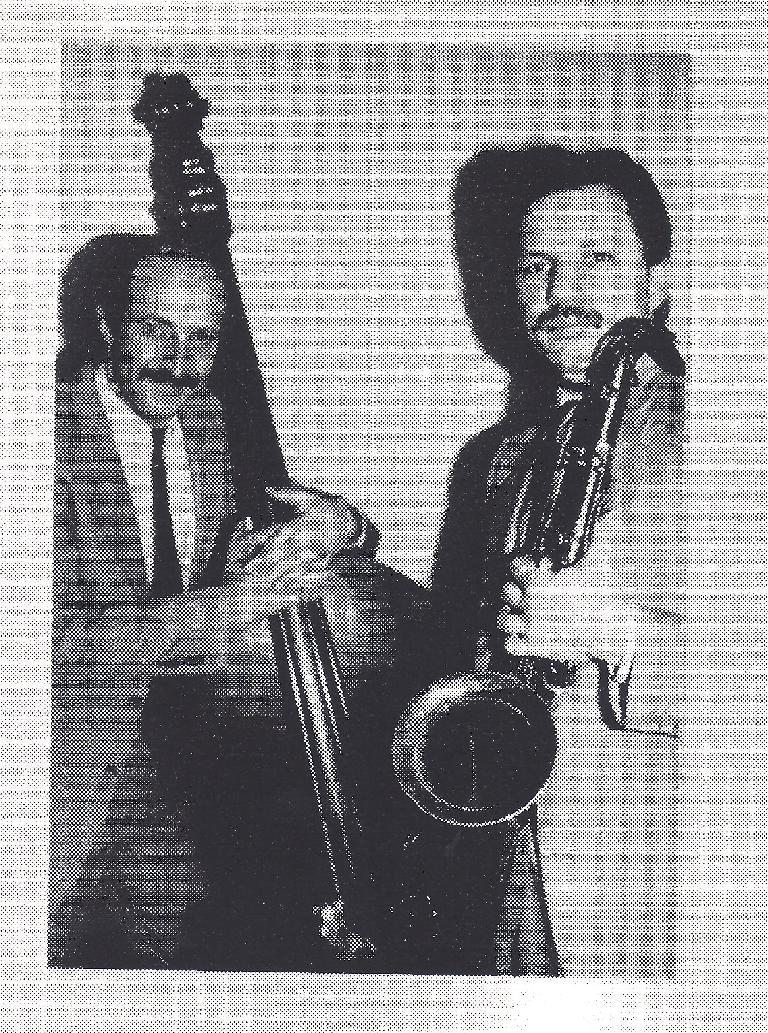 Bruce Gertz and Jerry Bergonzi 1986