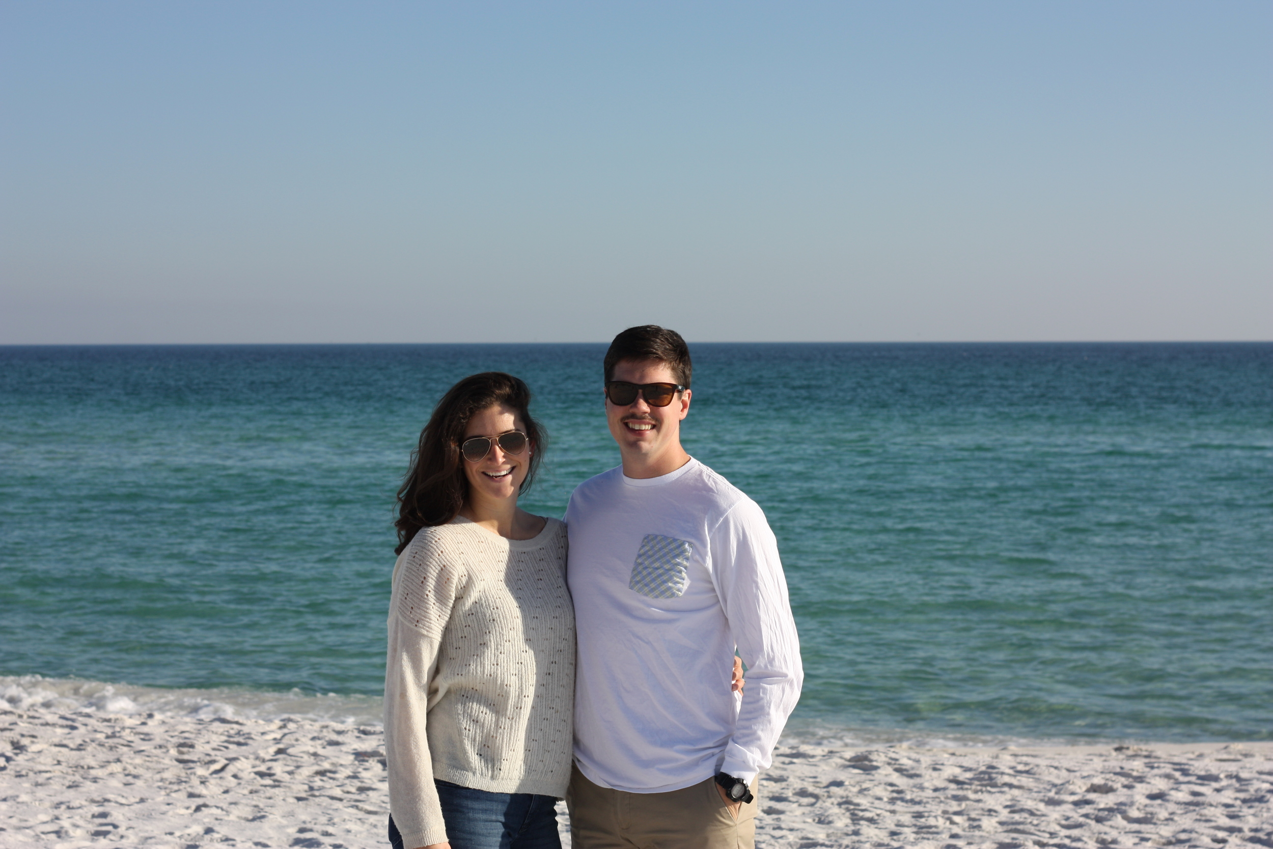 Sunday walk in Pensacola Beach