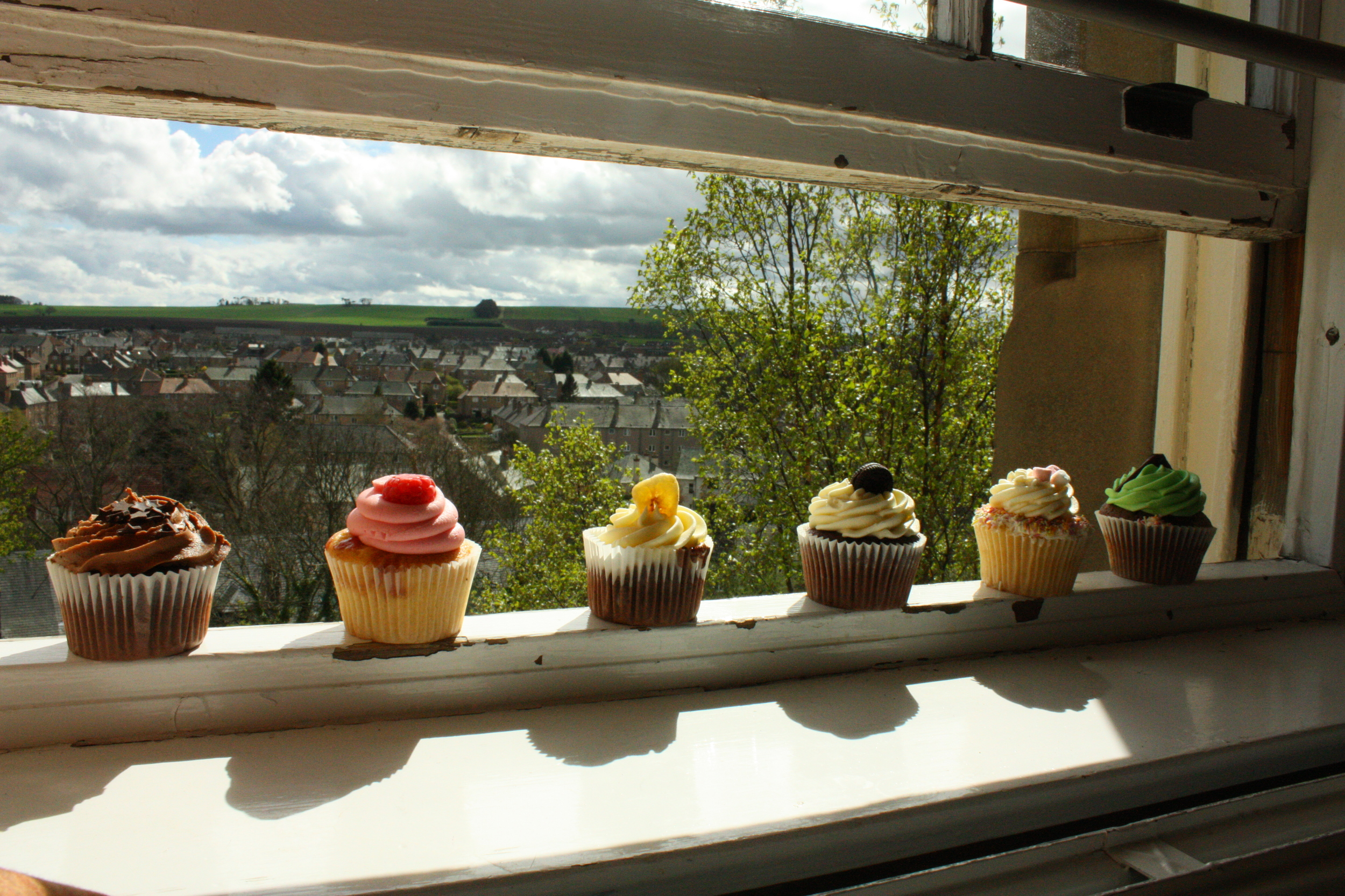 I'd take a cupcake in Scotland today... Photo: Author, St. Andrews, Scotland