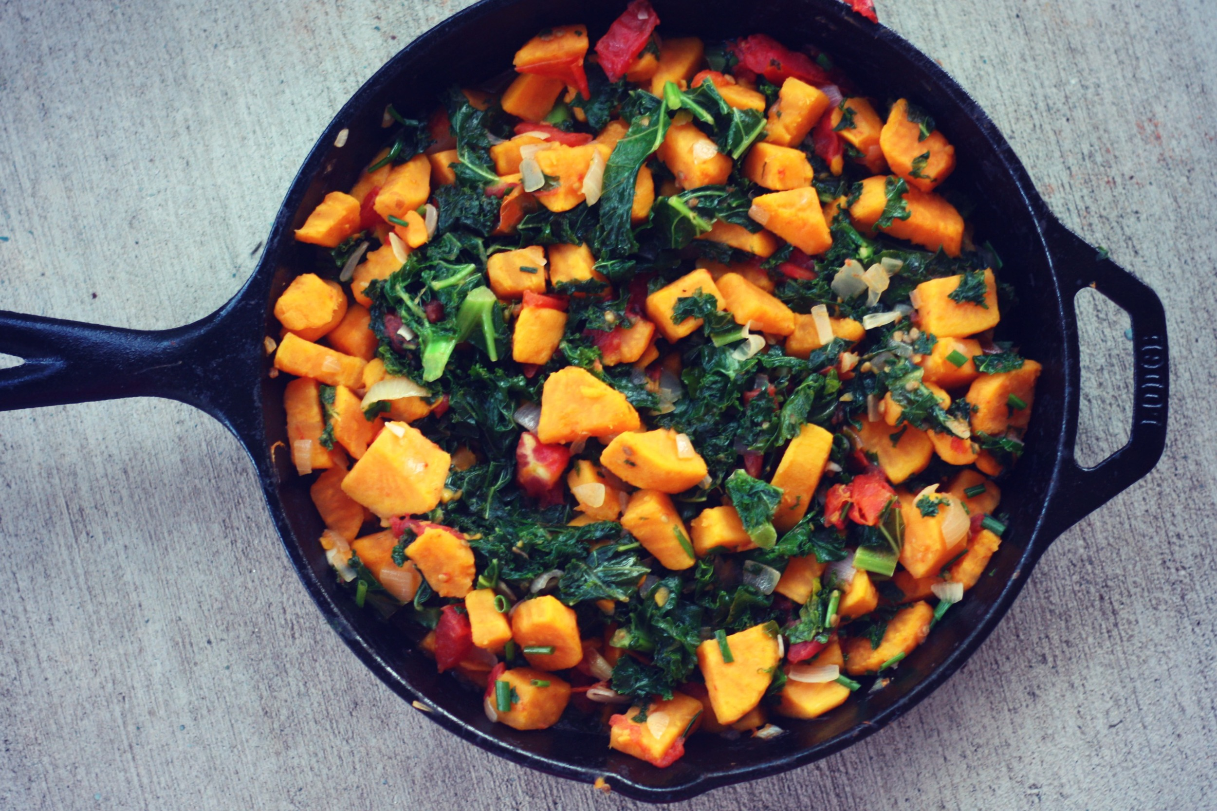 Sweet Potato Hash from  The Kinfolk Table  | Photo: Author
