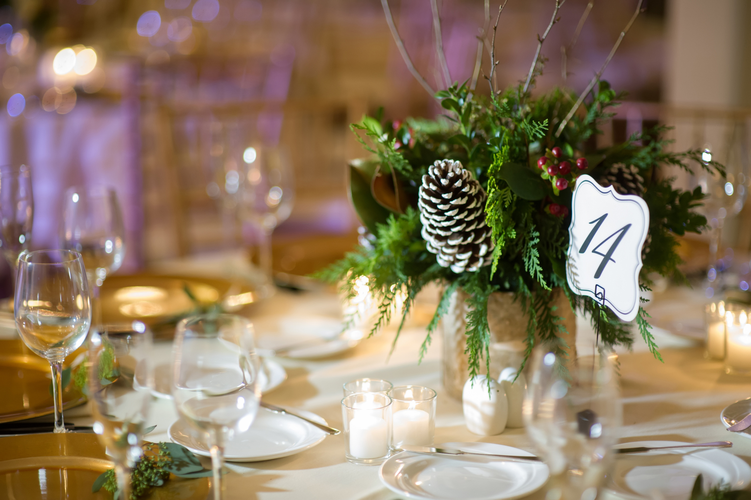 Tupper Manor Winter Wedding | The Gallivant
