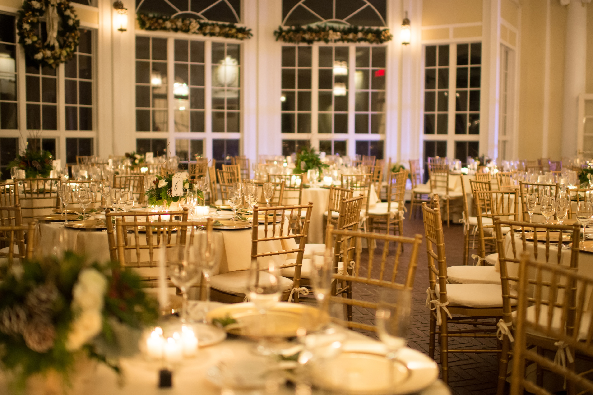 Tupper Manor Winter Wedding | The Gallivant