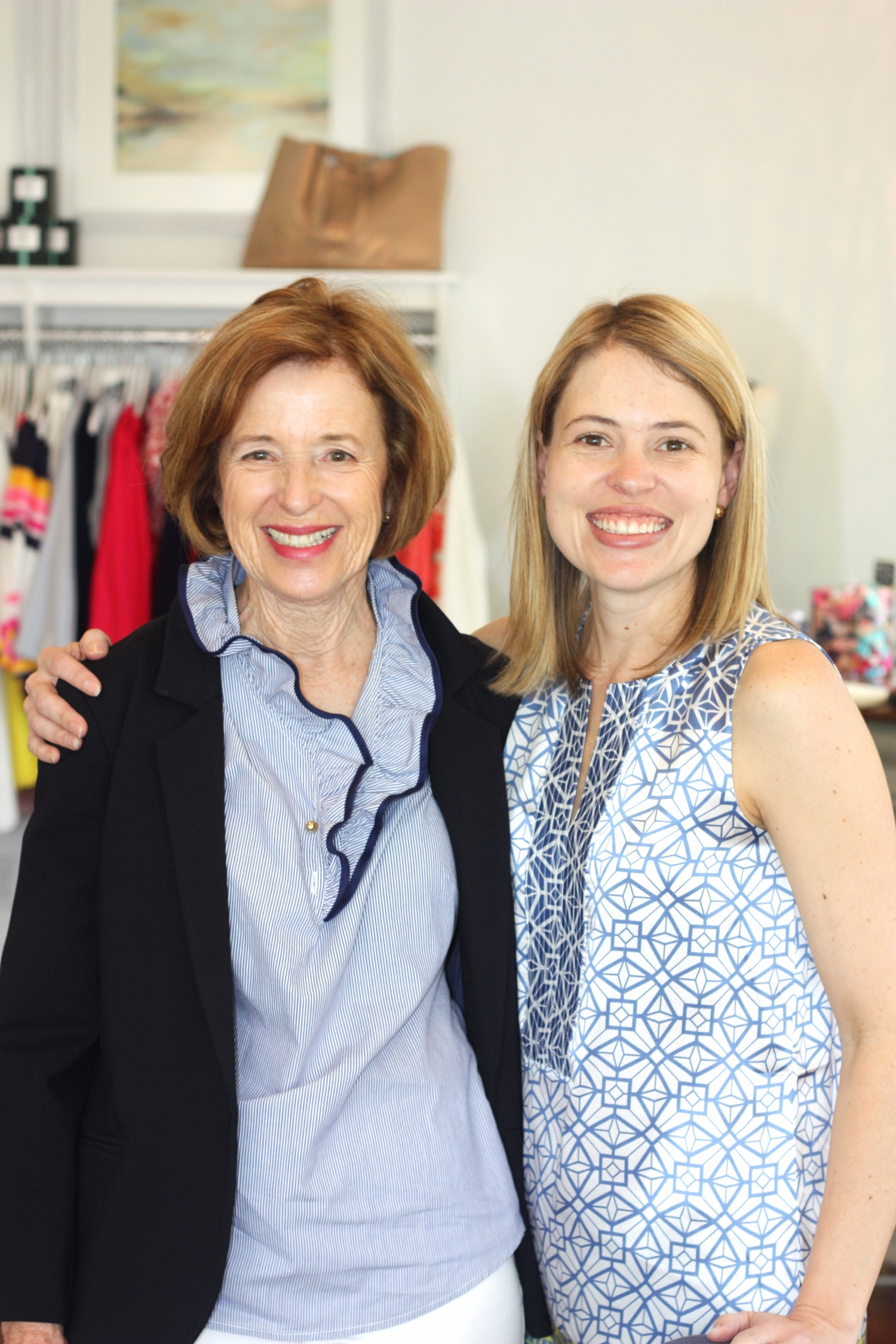Laura Belsinger and her mom Susie Endry, the stylish masterminds behind The Bluetique