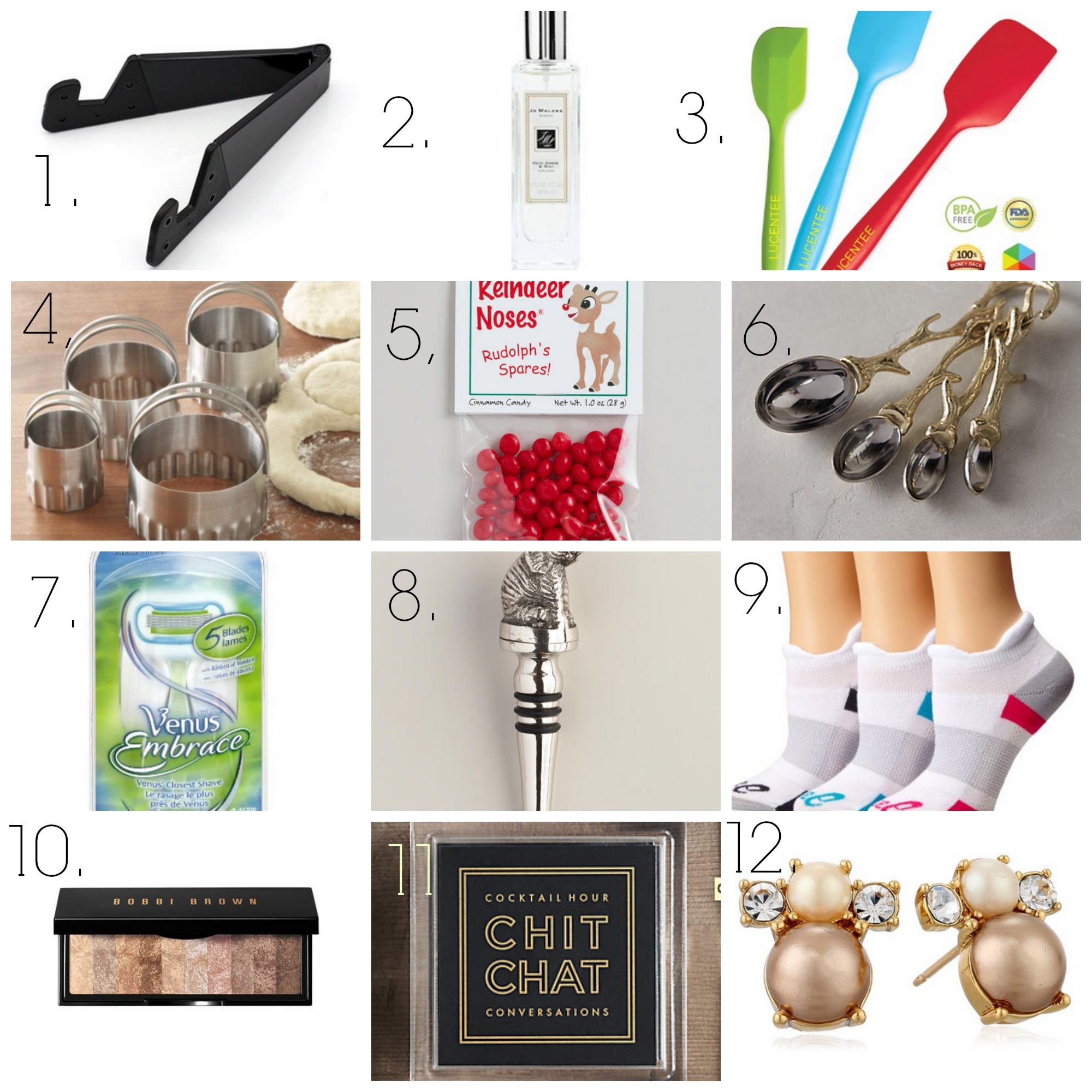 A gift guide full of great stocking stuffer ideas for the women in your life!