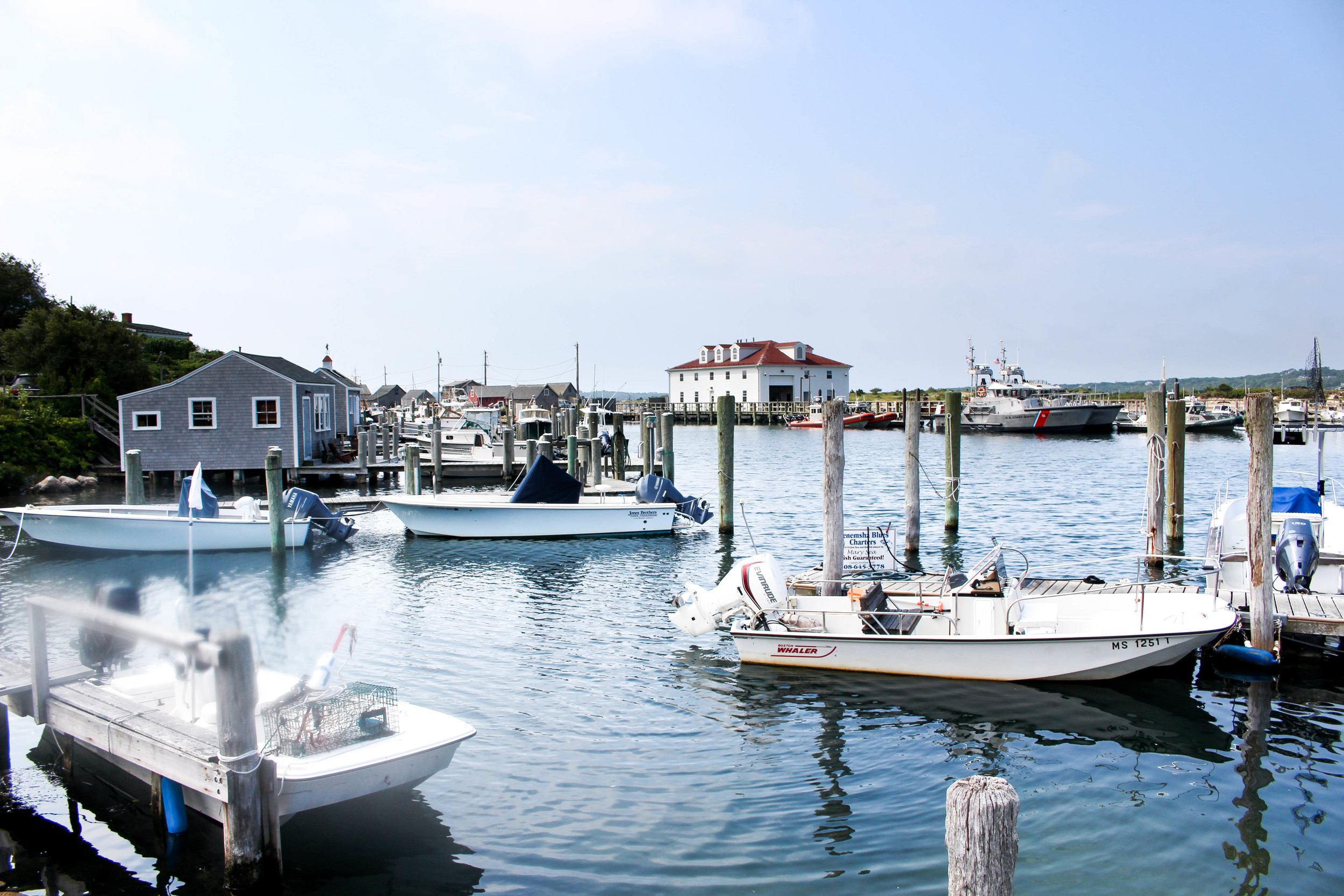 Menemsha Harbour | Martha's Vineyard | The Gallivant