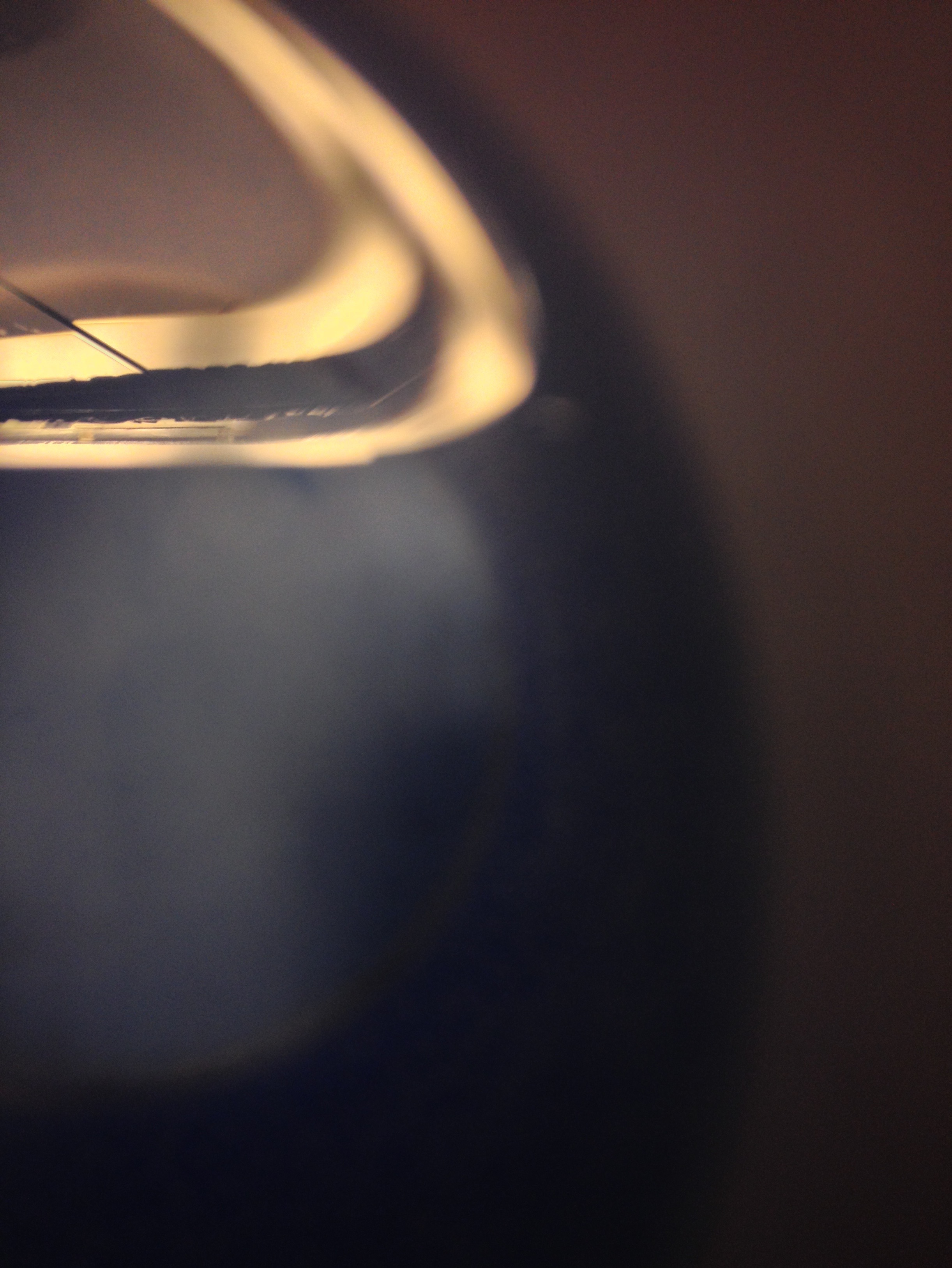 Light on a Drinking Cup