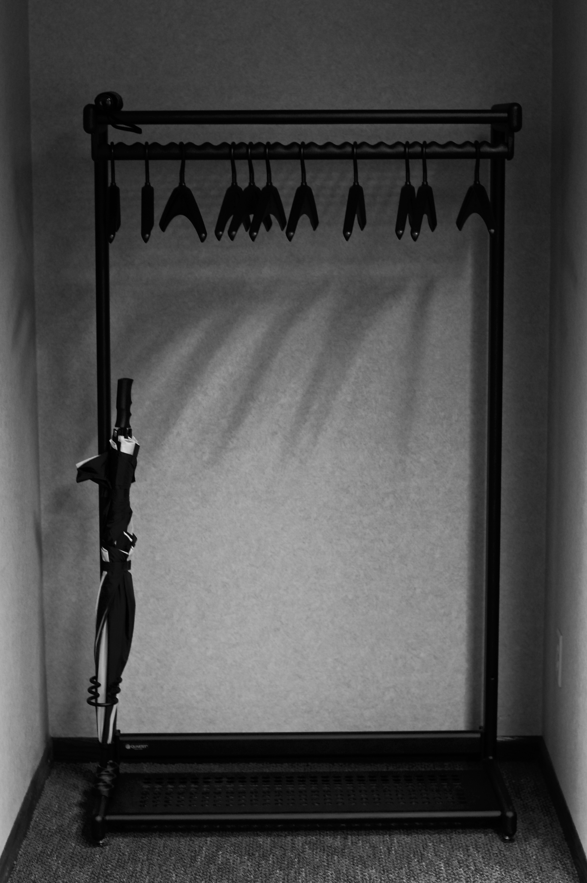 Coat Rack.   Tenney Building. Madison, Wisconsin.   October, 2015.   © William D. Walker